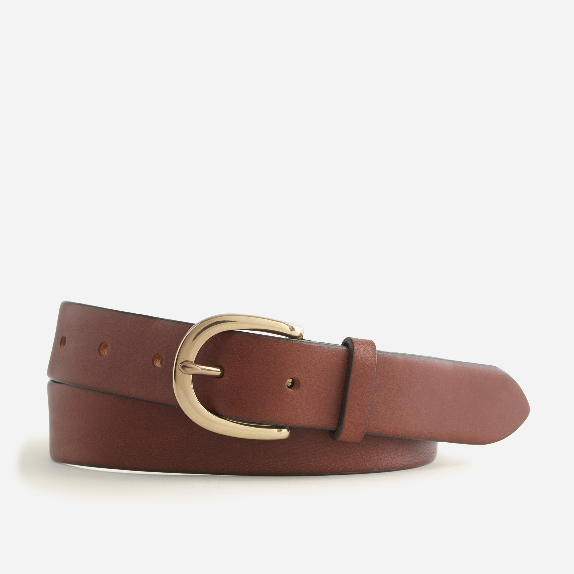 womens Classic leather belt
