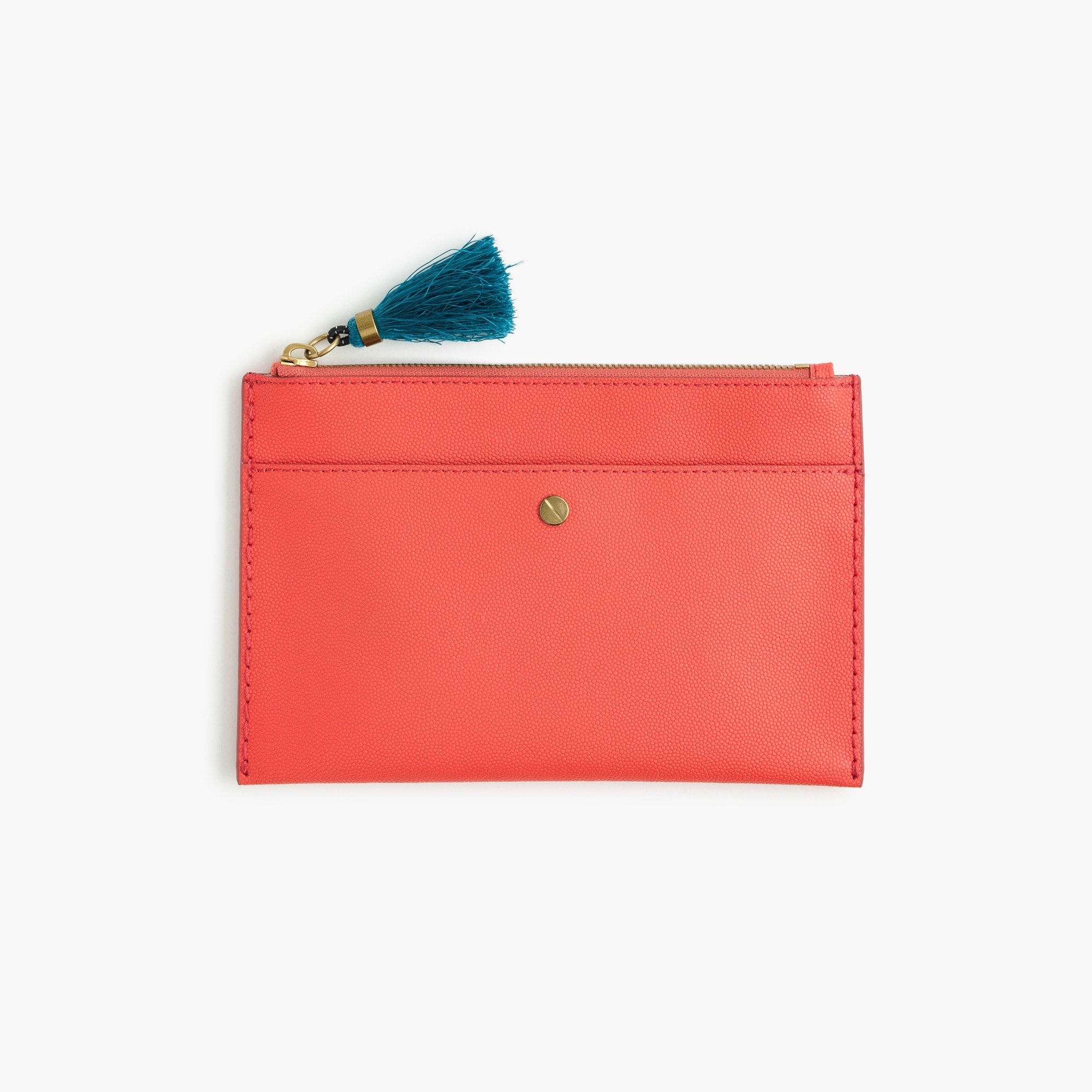 Medium pouch in Italian leather