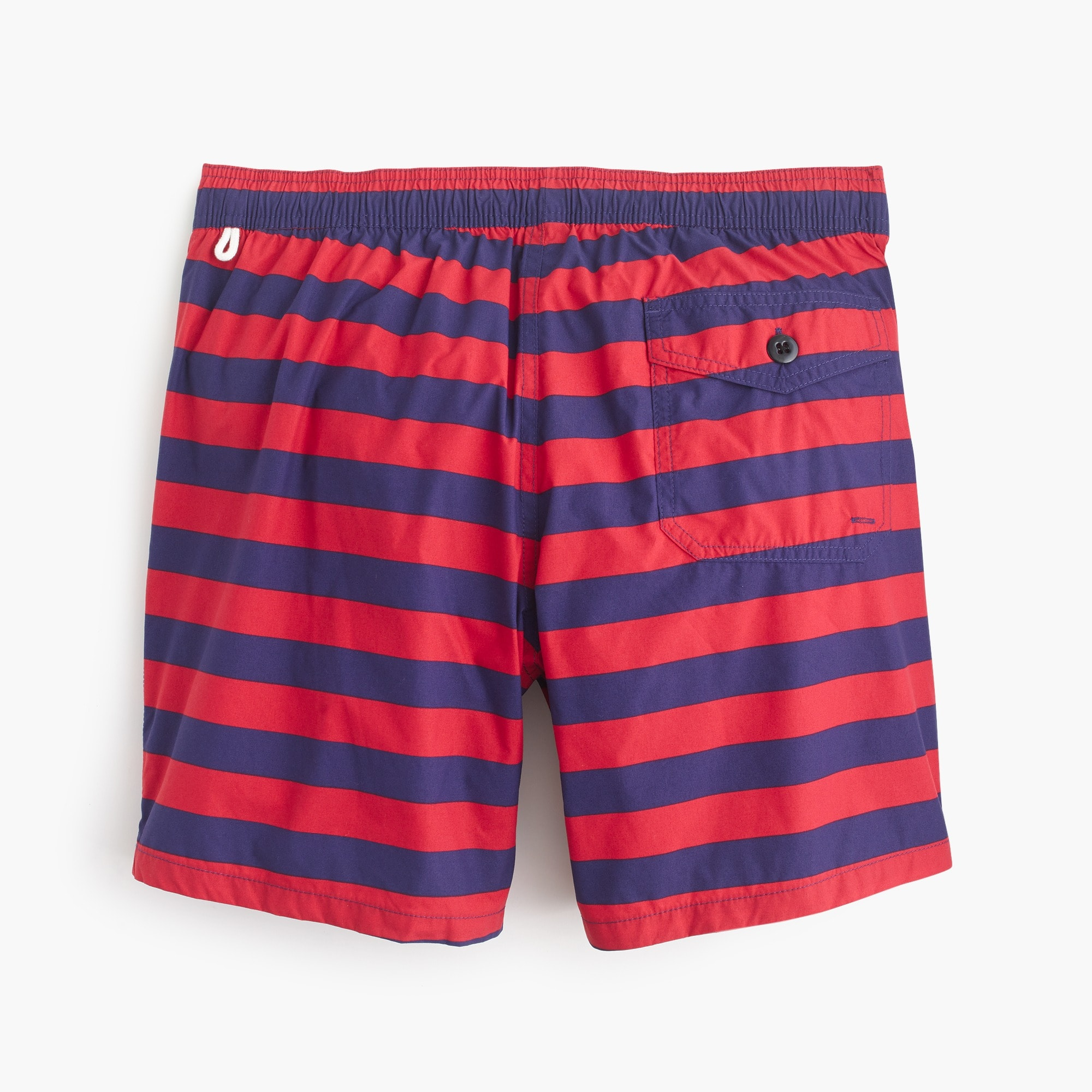 "6"" swim trunk in stripe"