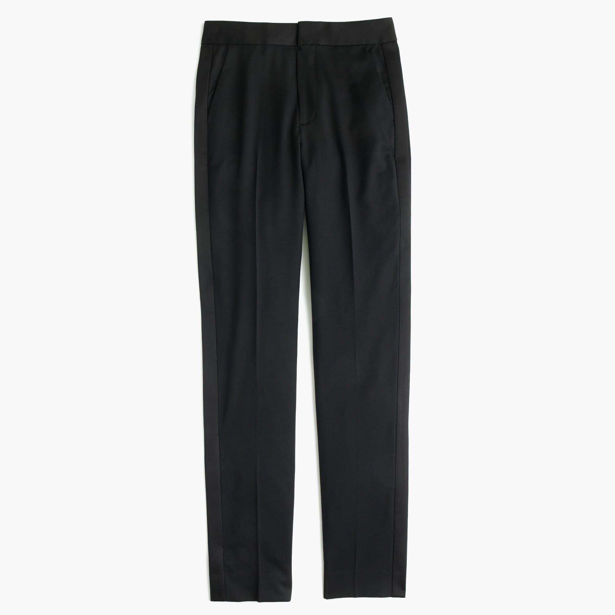 Collection tuxedo pant in Italian wool