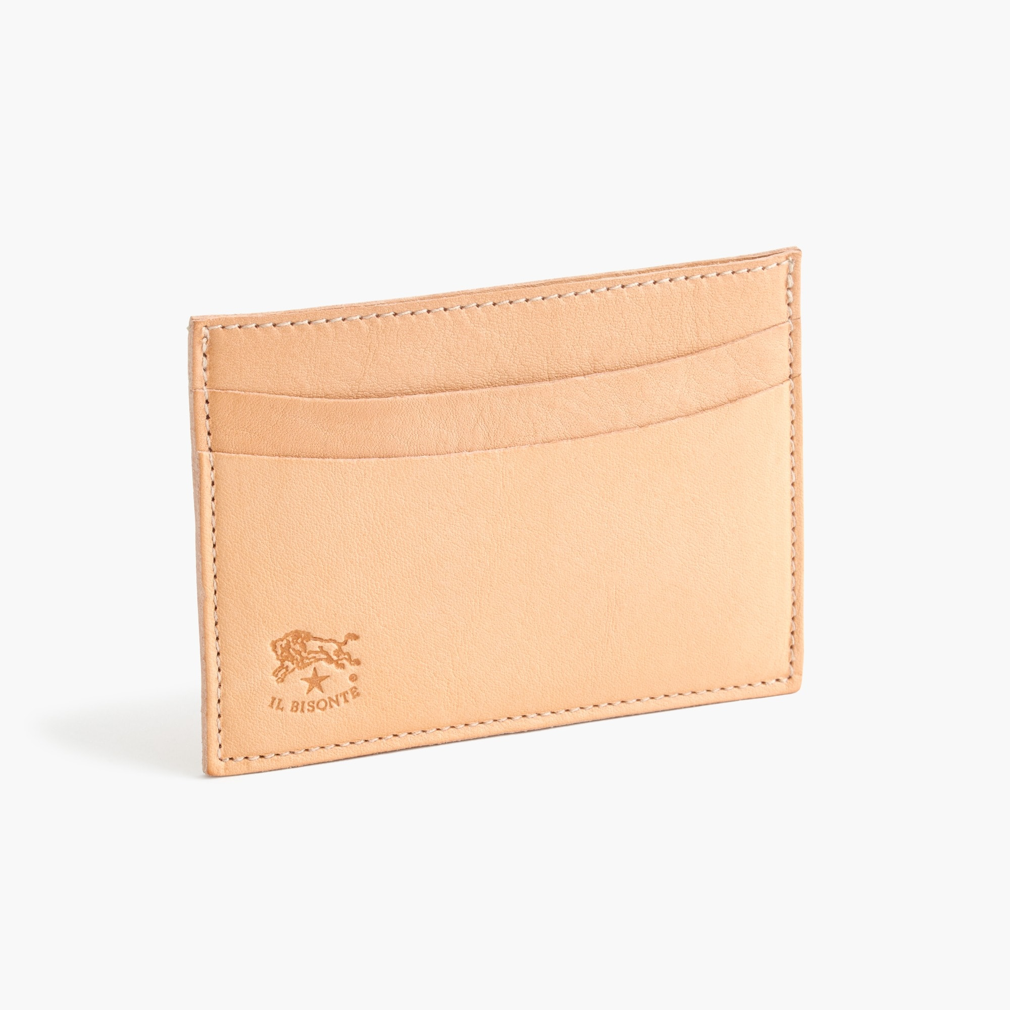 IL Bisonte® leather card case men j.crew in good company c