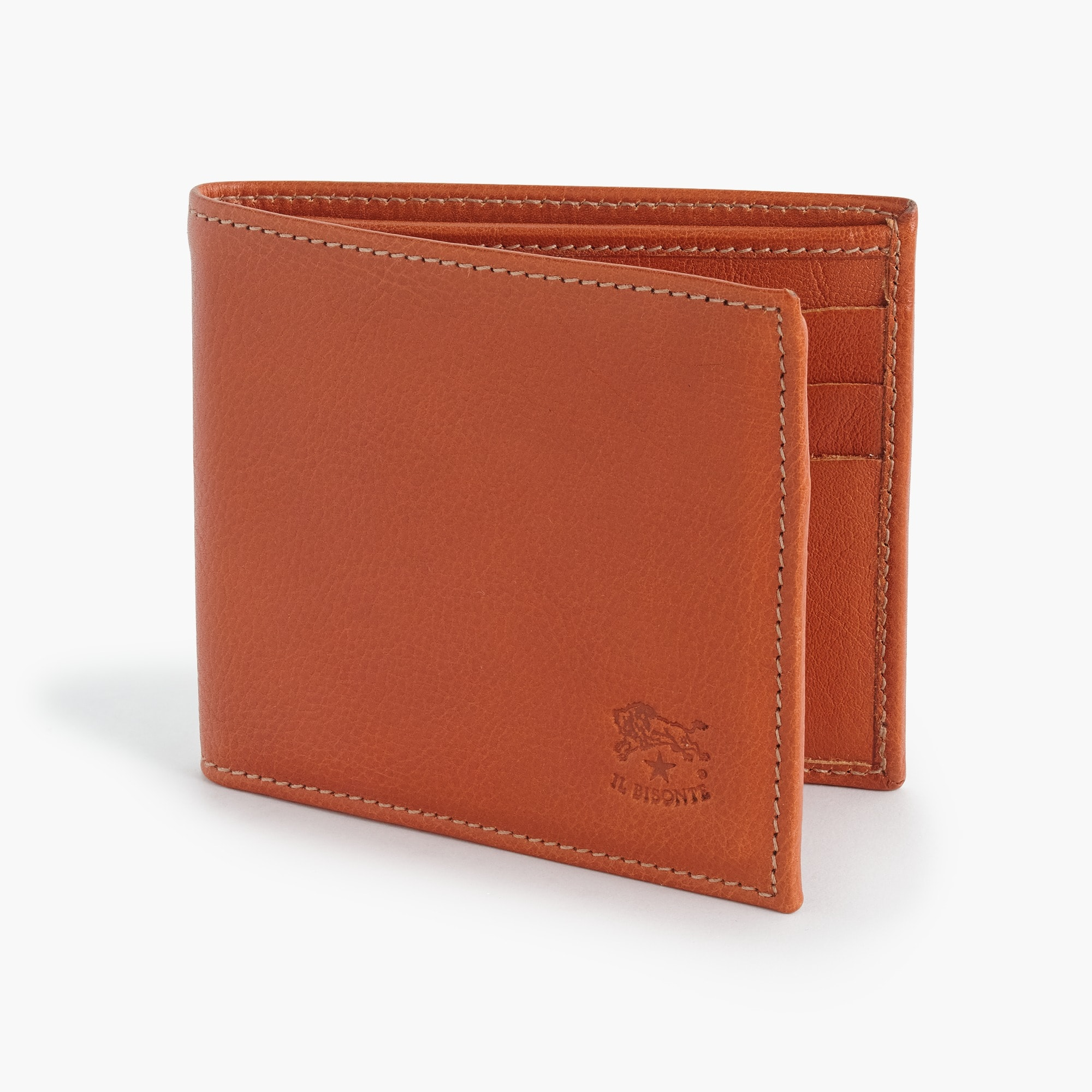 IL Bisonte® leather card wallet men j.crew in good company c