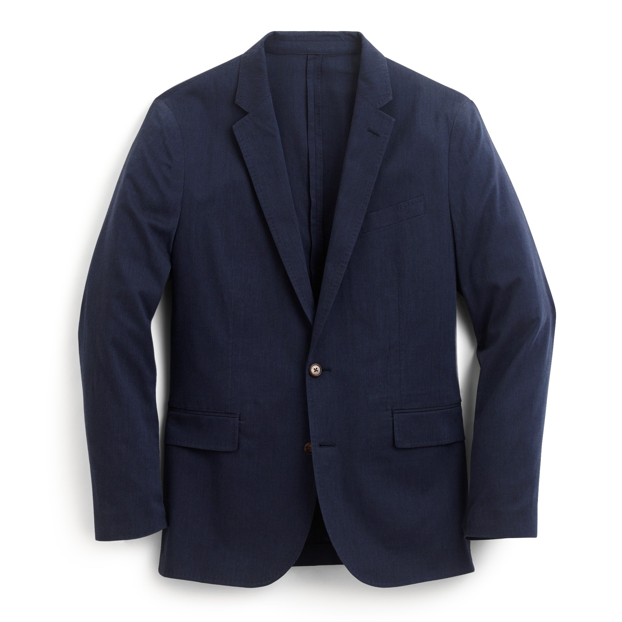 Image 2 for Ludlow Slim-fit unstructured suit jacket in stretch cotton