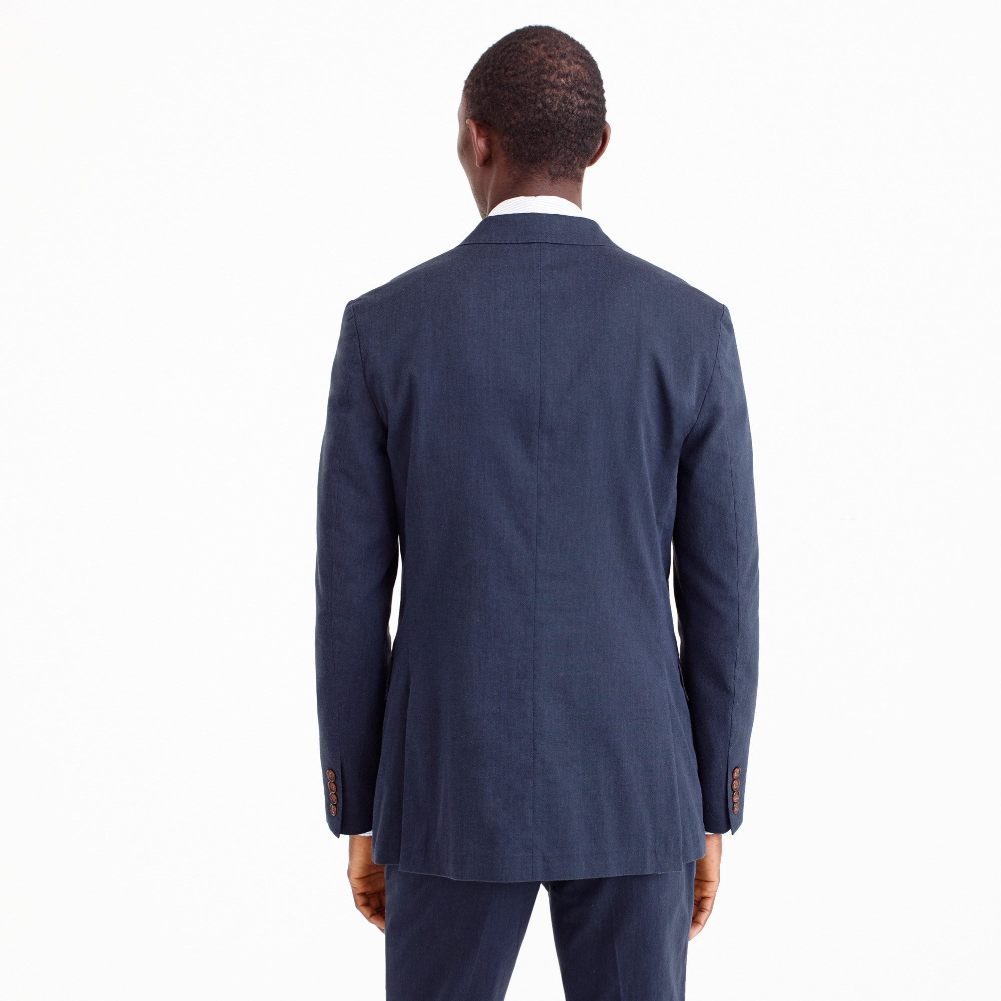 Image 4 for Ludlow Slim-fit unstructured suit jacket in stretch cotton