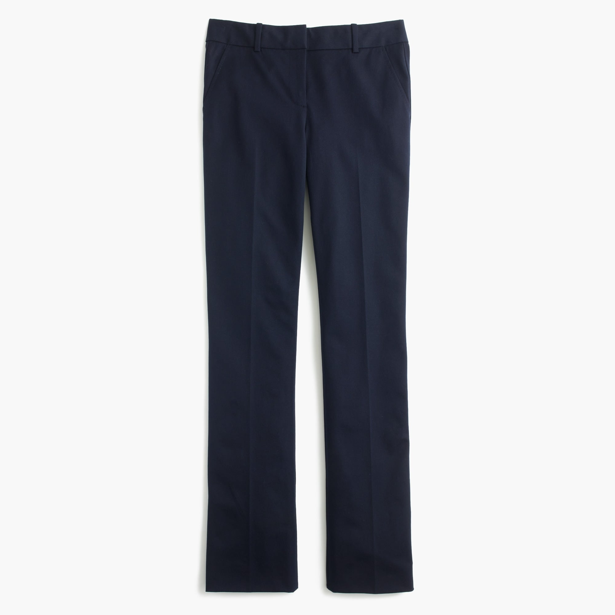 Campbell trouser in two-way stretch cotton