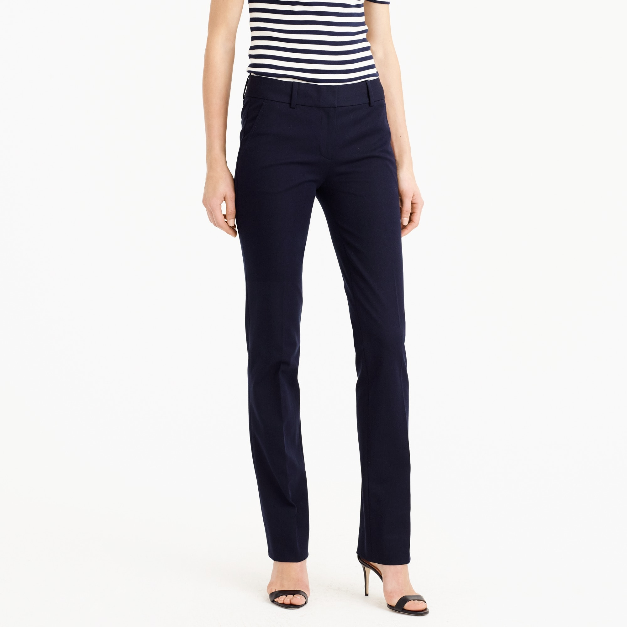 campbell trouser in two-way stretch cotton : women stretch cotton