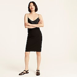 No. 2 Pencil® skirt in bi-stretch cotton