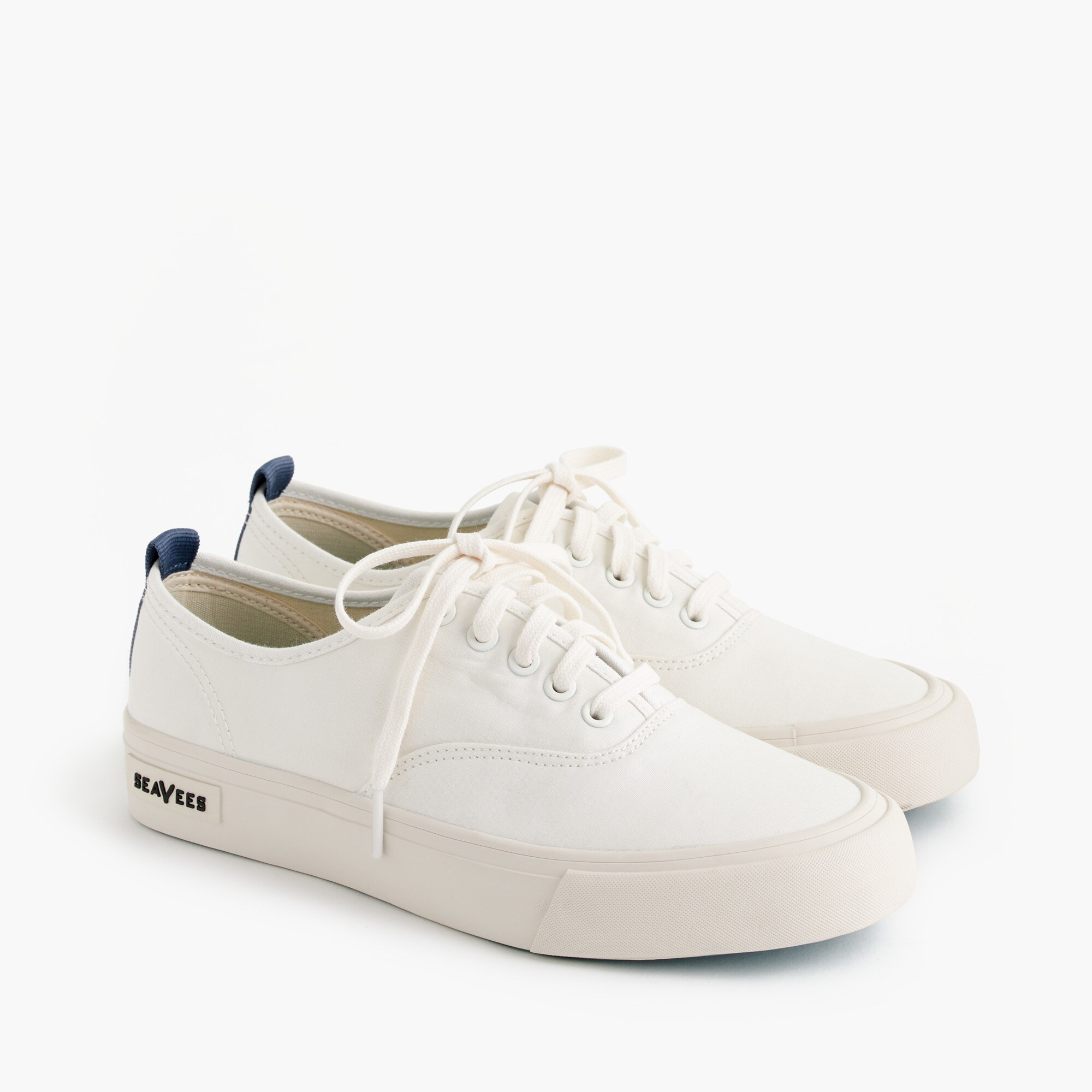 SeaVees® for J.Crew Legend sneakers in piqué cotton women j.crew in good company c