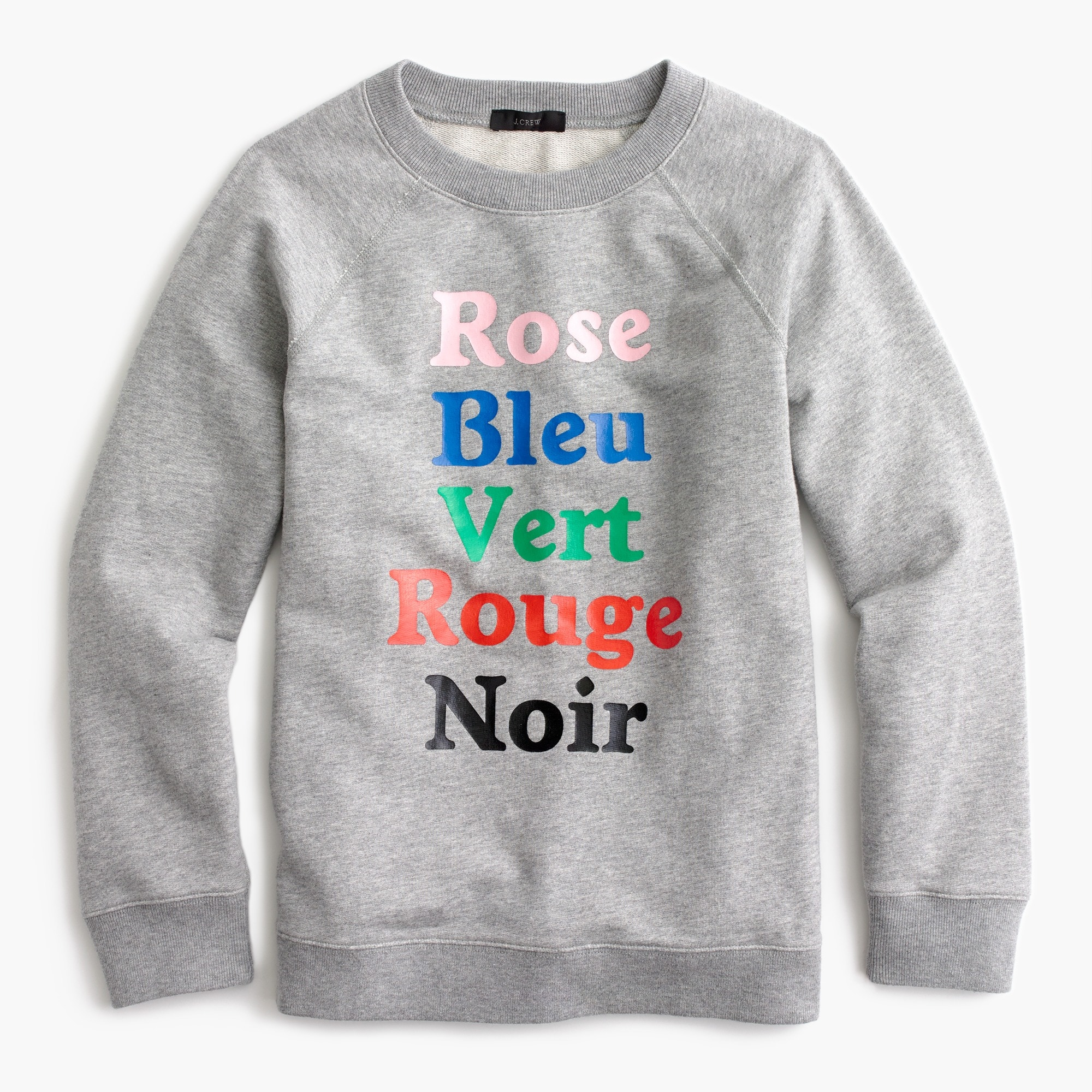 French colors sweatshirt