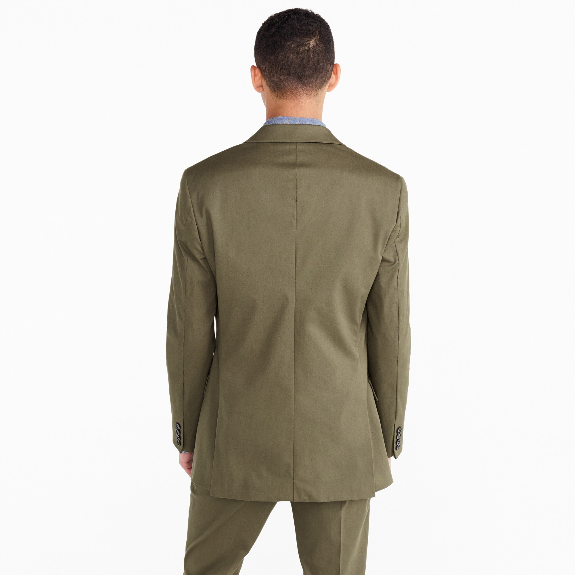 Image 2 for Ludlow Slim-fit suit jacket in Italian stretch chino