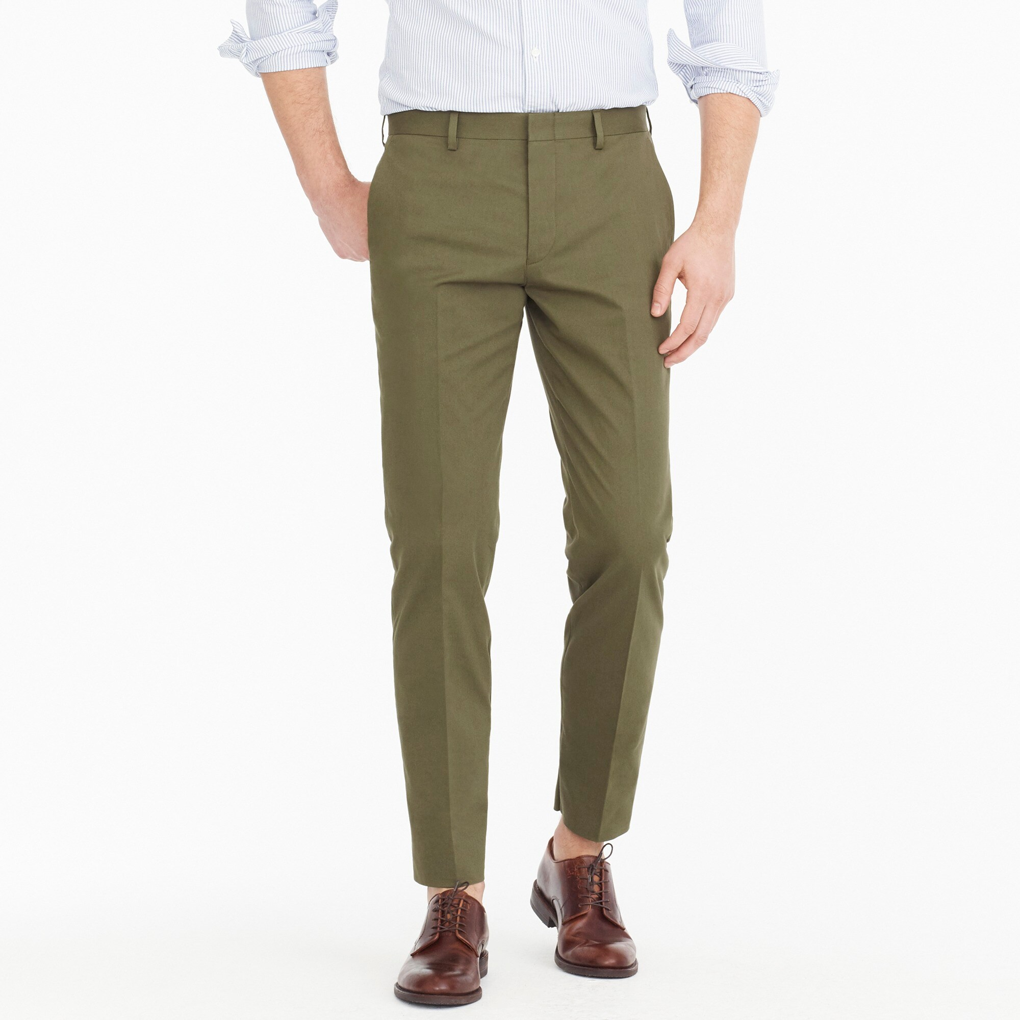 Ludlow suit pant in Italian stretch chino men pants c