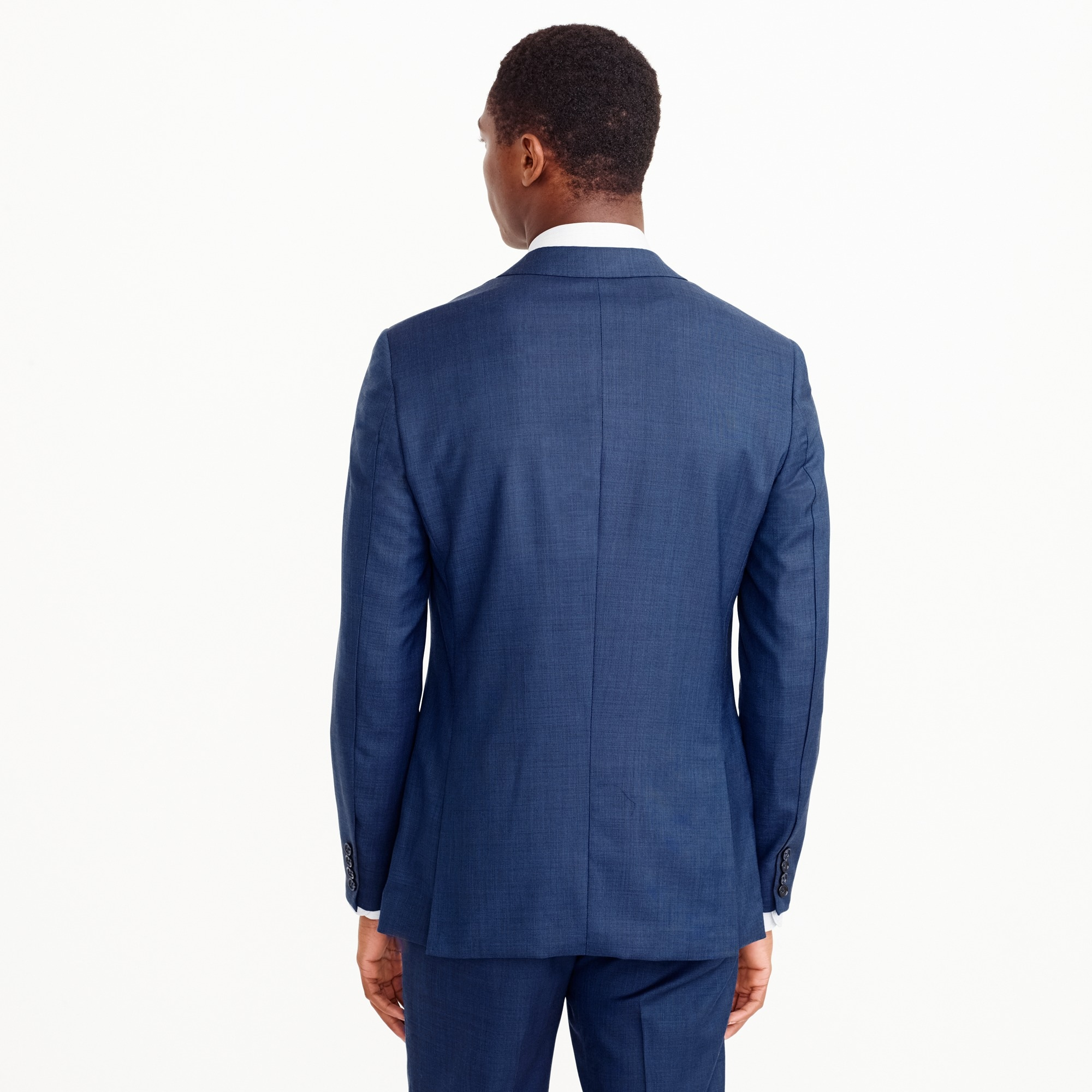 Ludlow Slim-fit suit jacket in Italian stretch worsted wool