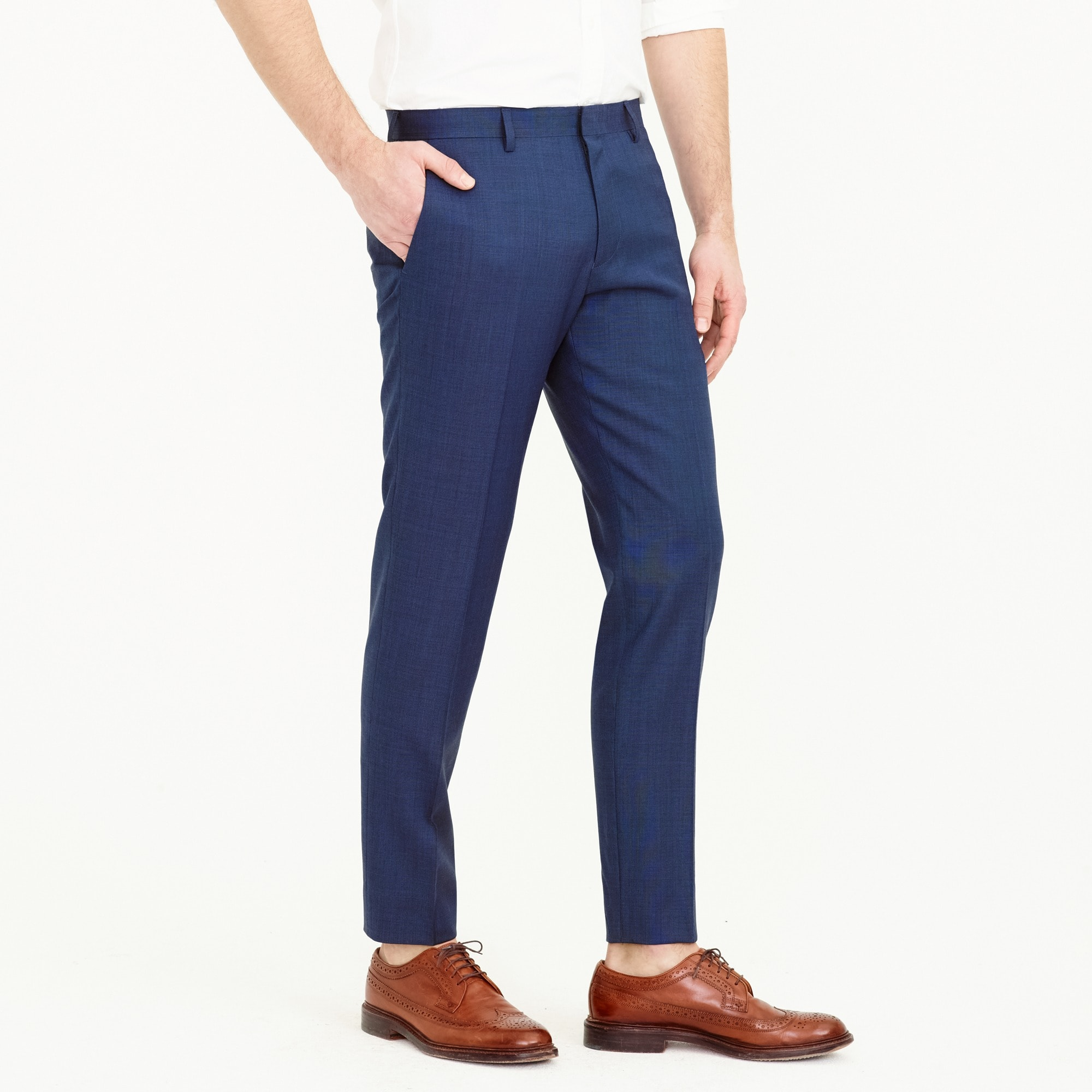 Image 3 for Ludlow Slim-fit suit pant in Italian stretch worsted wool