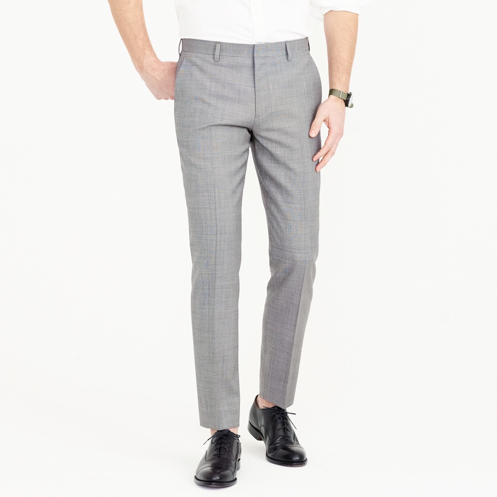 ludlow suit pant in italian stretch worsted wool : men new arrivals