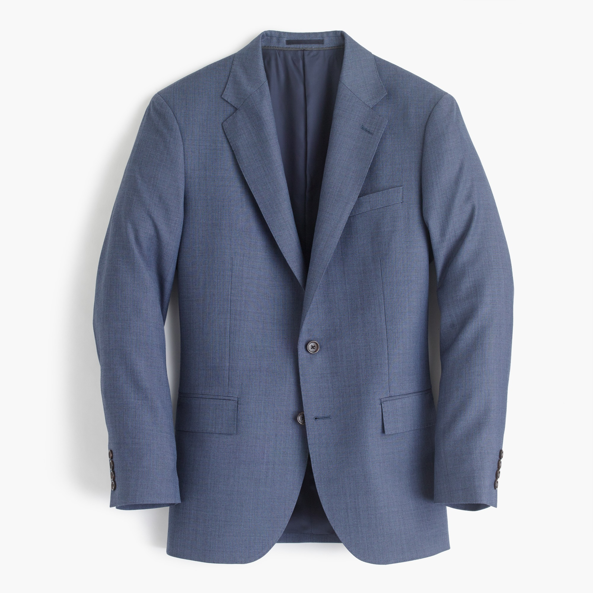 Image 2 for Ludlow Slim-fit wide-lapel suit jacket in Italian worsted wool