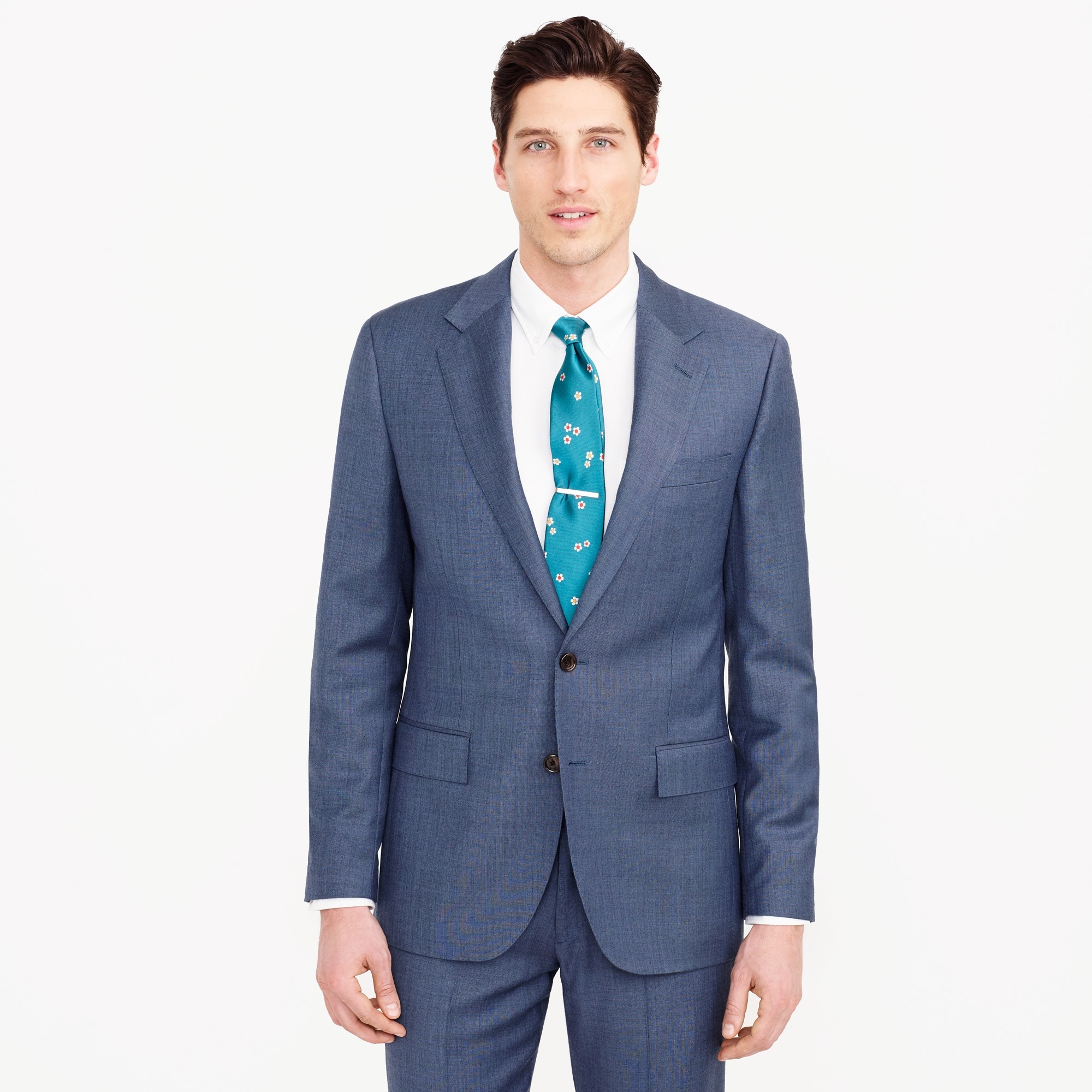 men's ludlow wide-lapel suit jacket in italian worsted wool - men's suiting