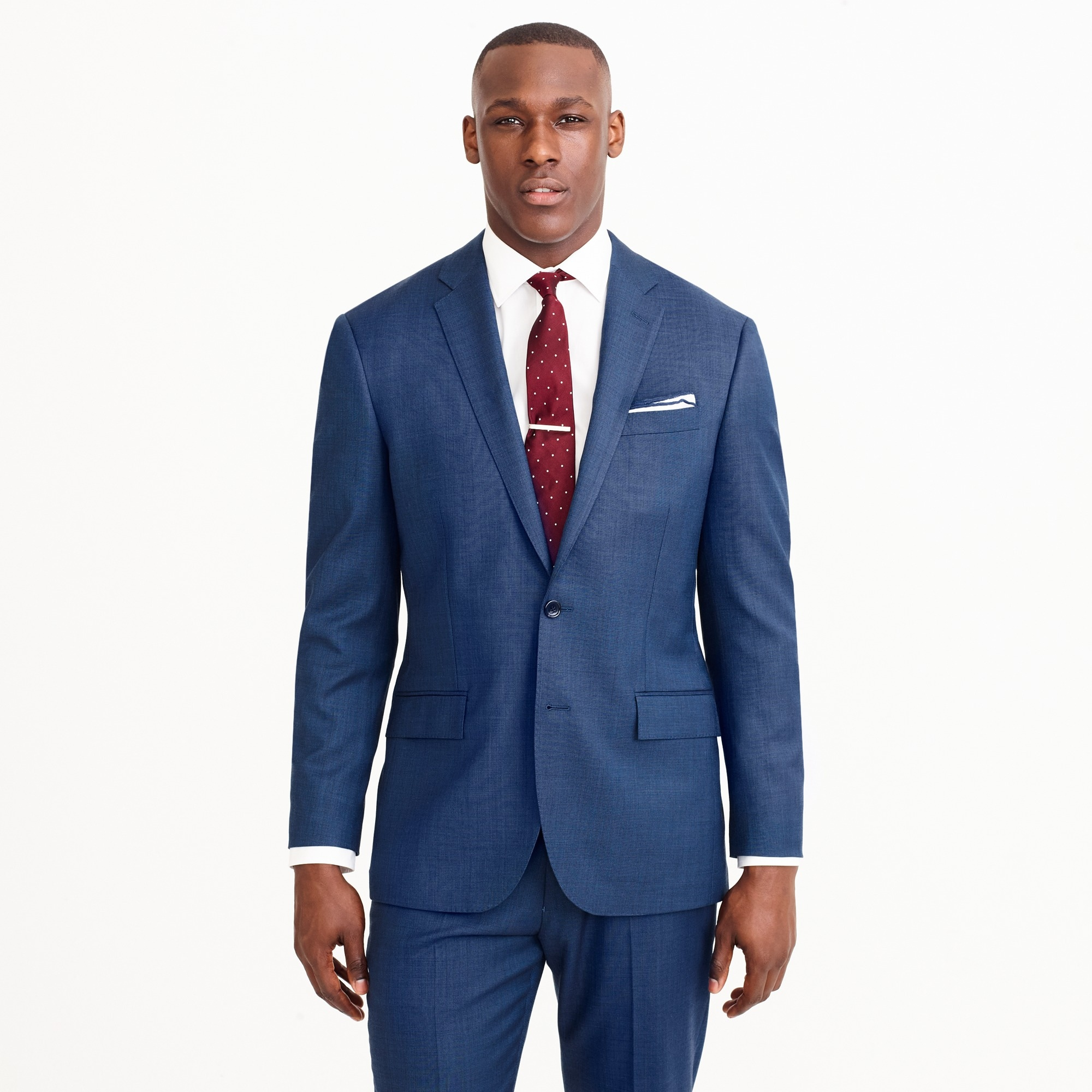 Crosby suit jacket in Italian stretch worsted wool¿