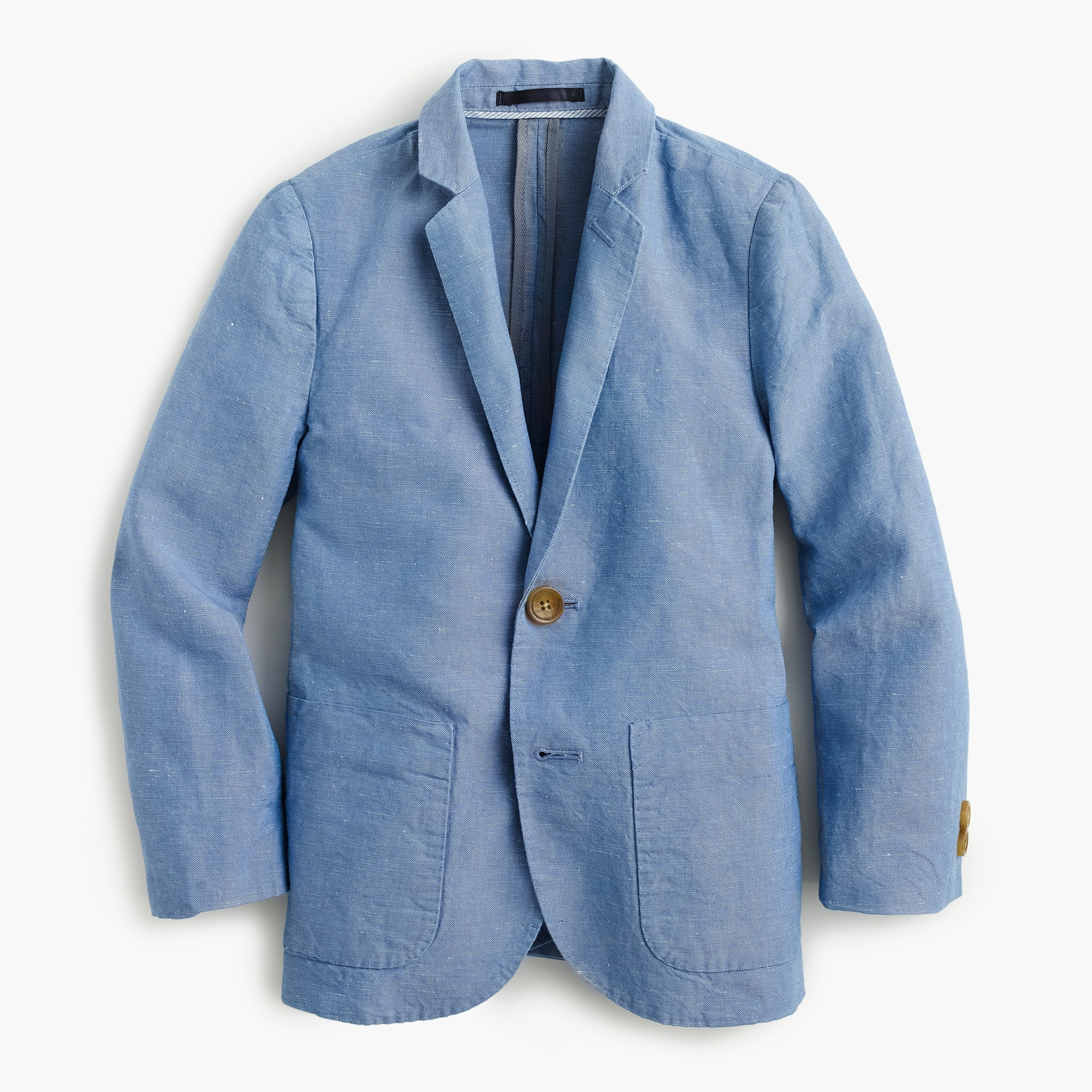 Boys' unconstructed Ludlow blazer in Irish linen