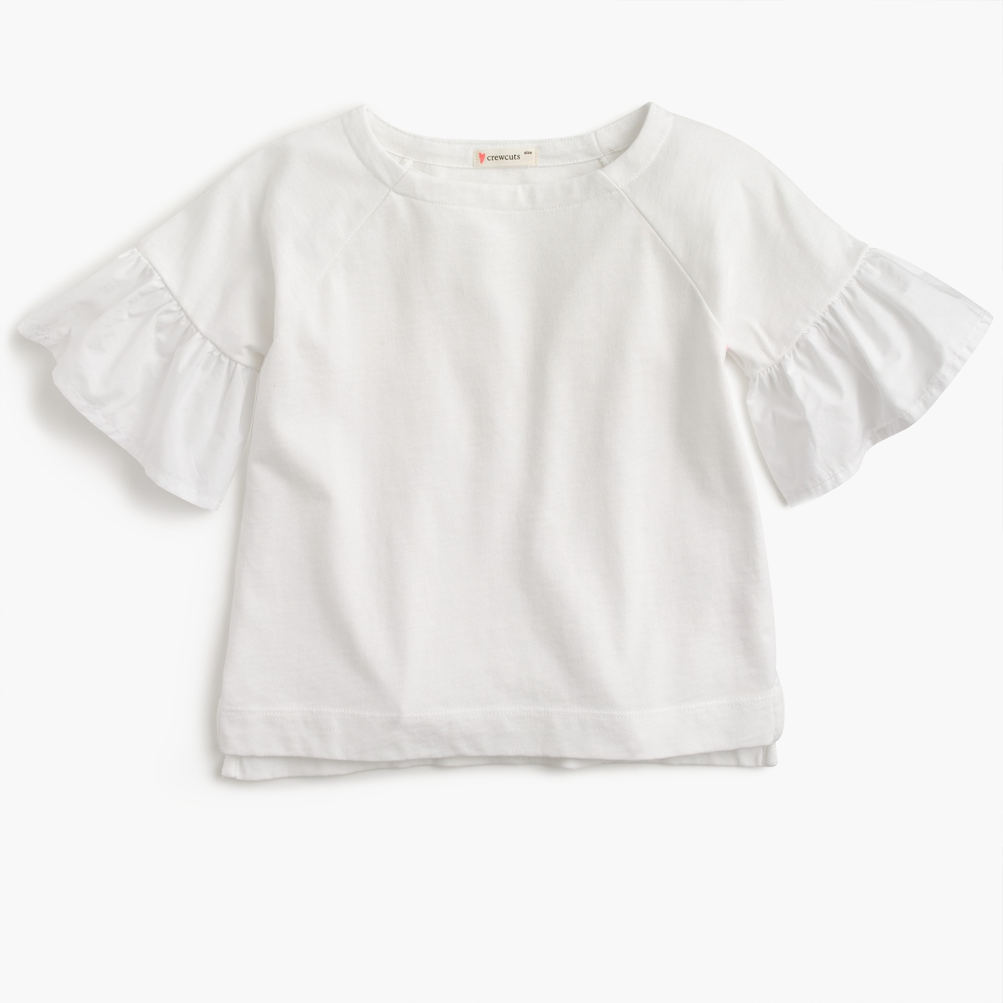 flutter-sleeve top : girls' tees & tanks