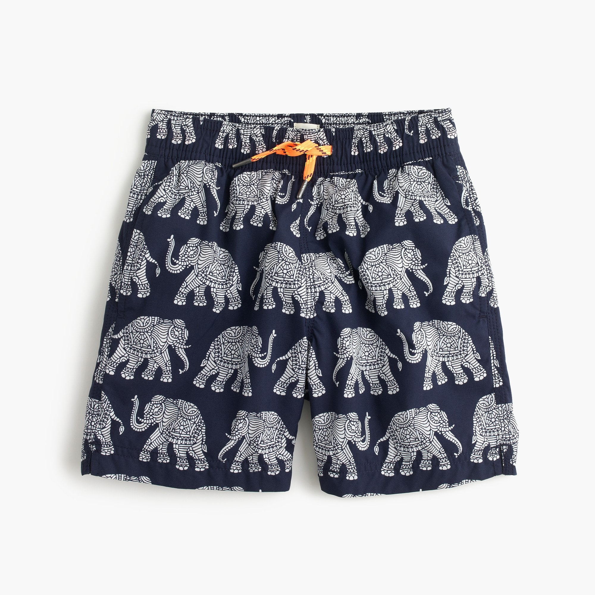 boys' swim trunk in elephant print : boys' swimwear