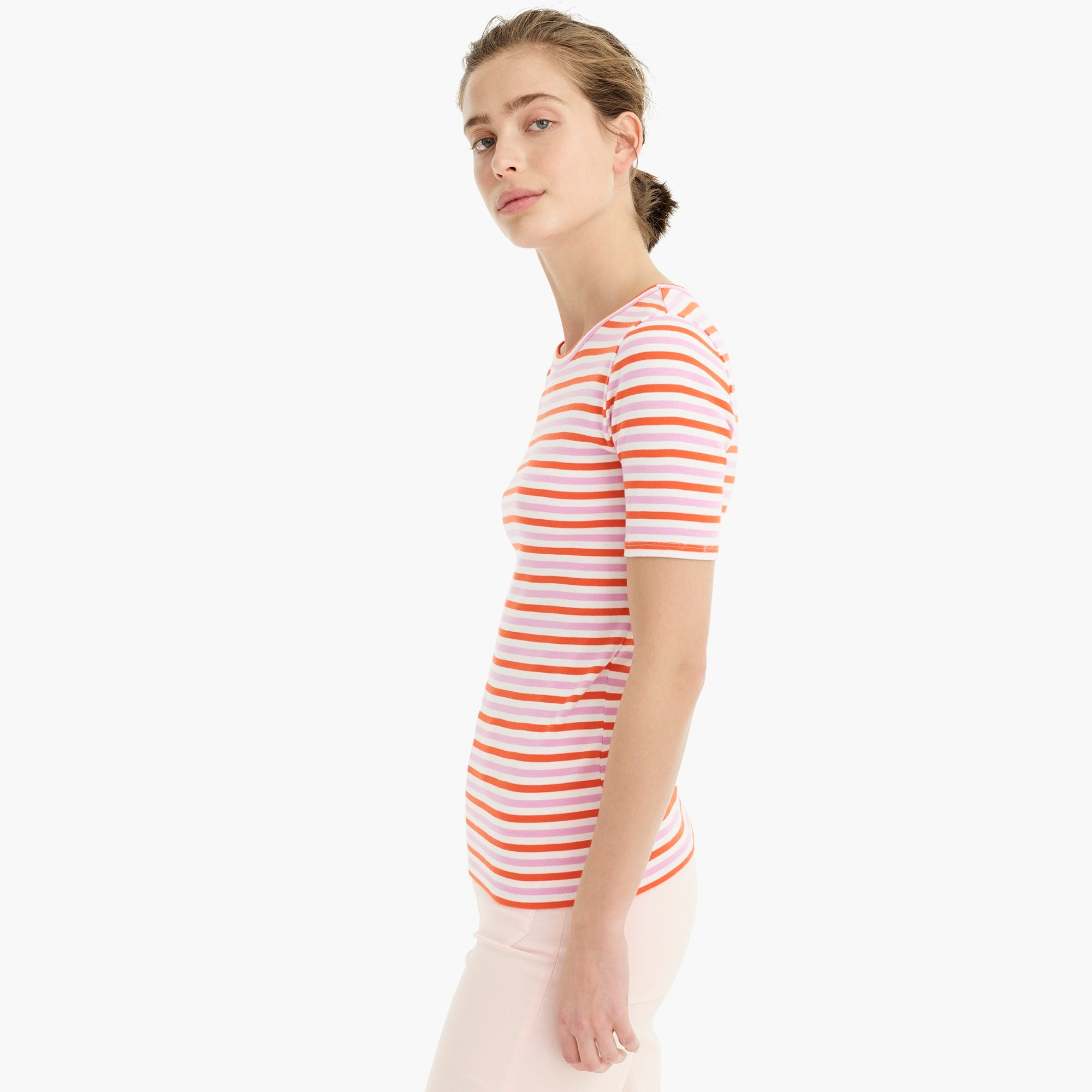 Image 4 for Slim perfect T-shirt in stripe