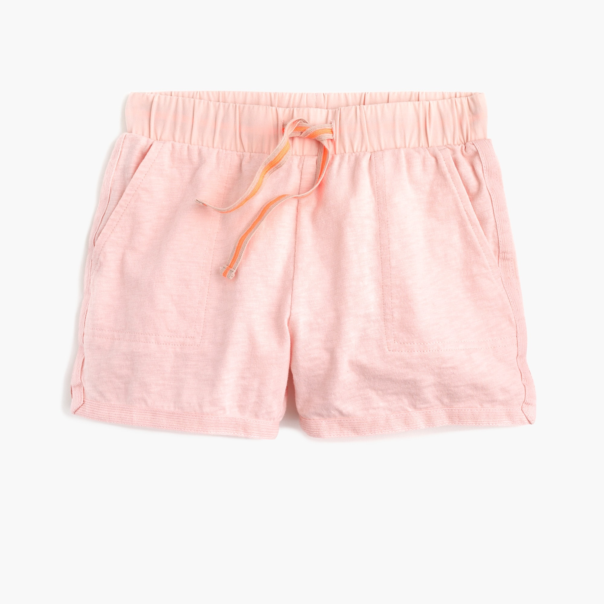 girls Girls' pull-on short in cotton jersey