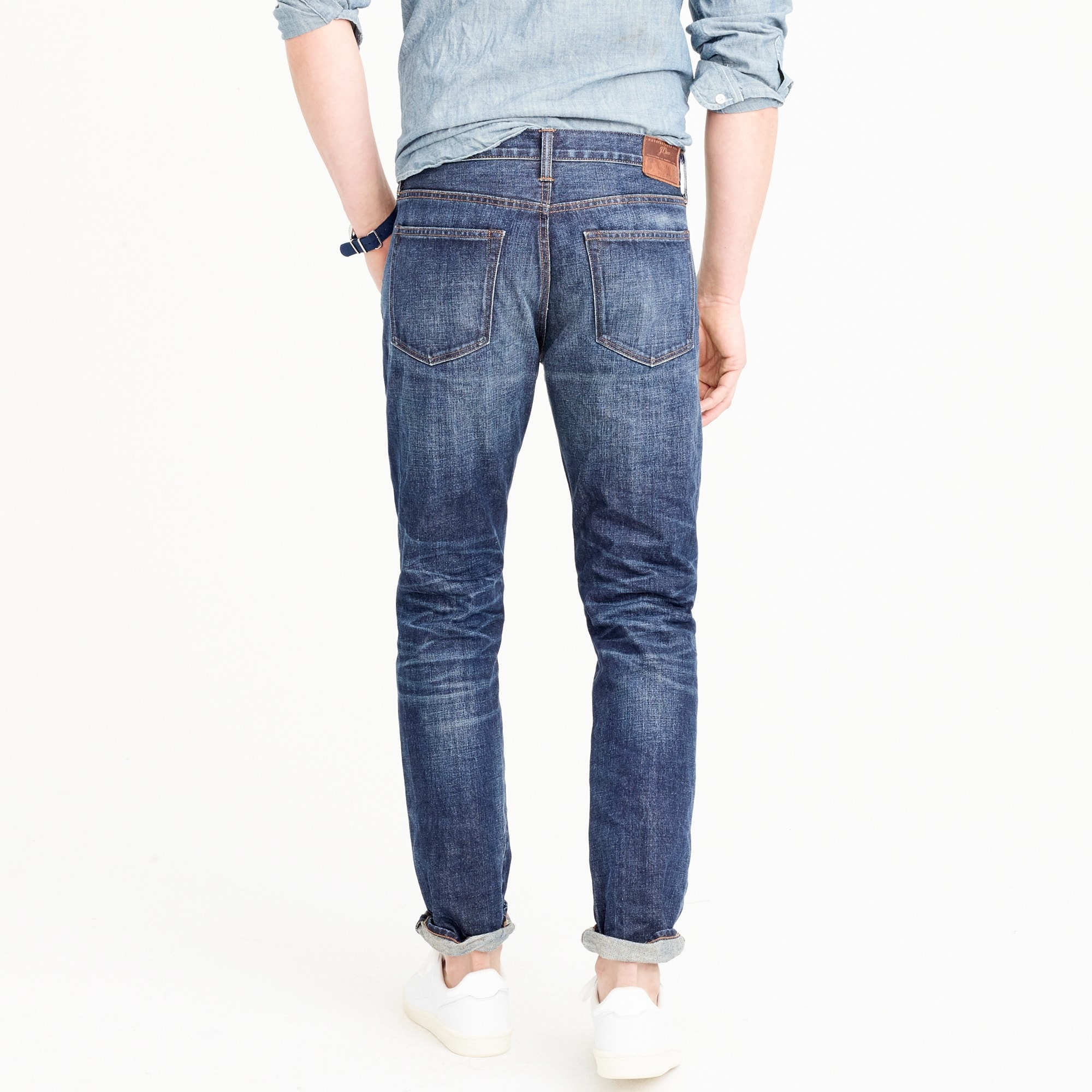 770 Straight-fit jean in Collins wash