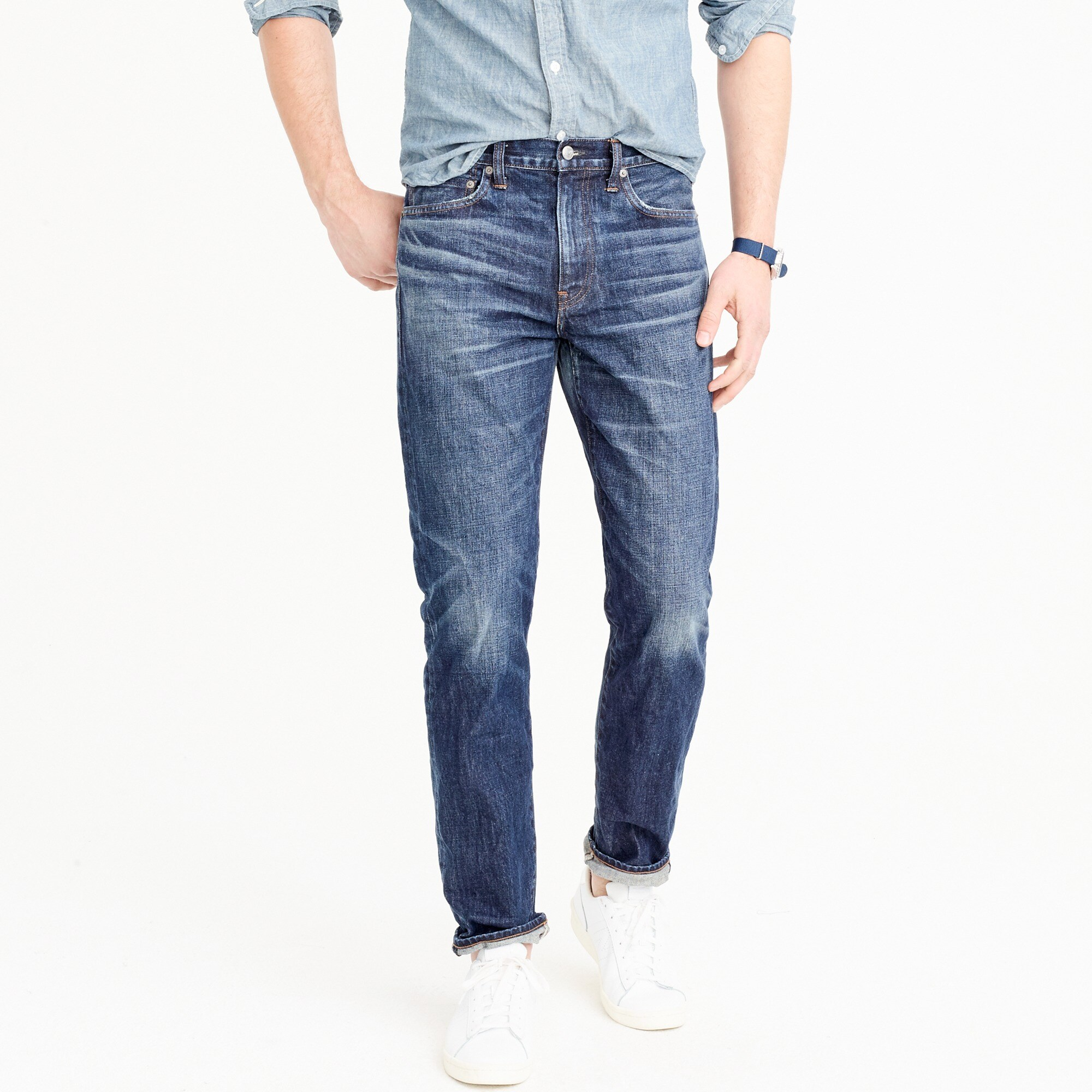 men's 770 straight-fit jean in collins wash - men's pants