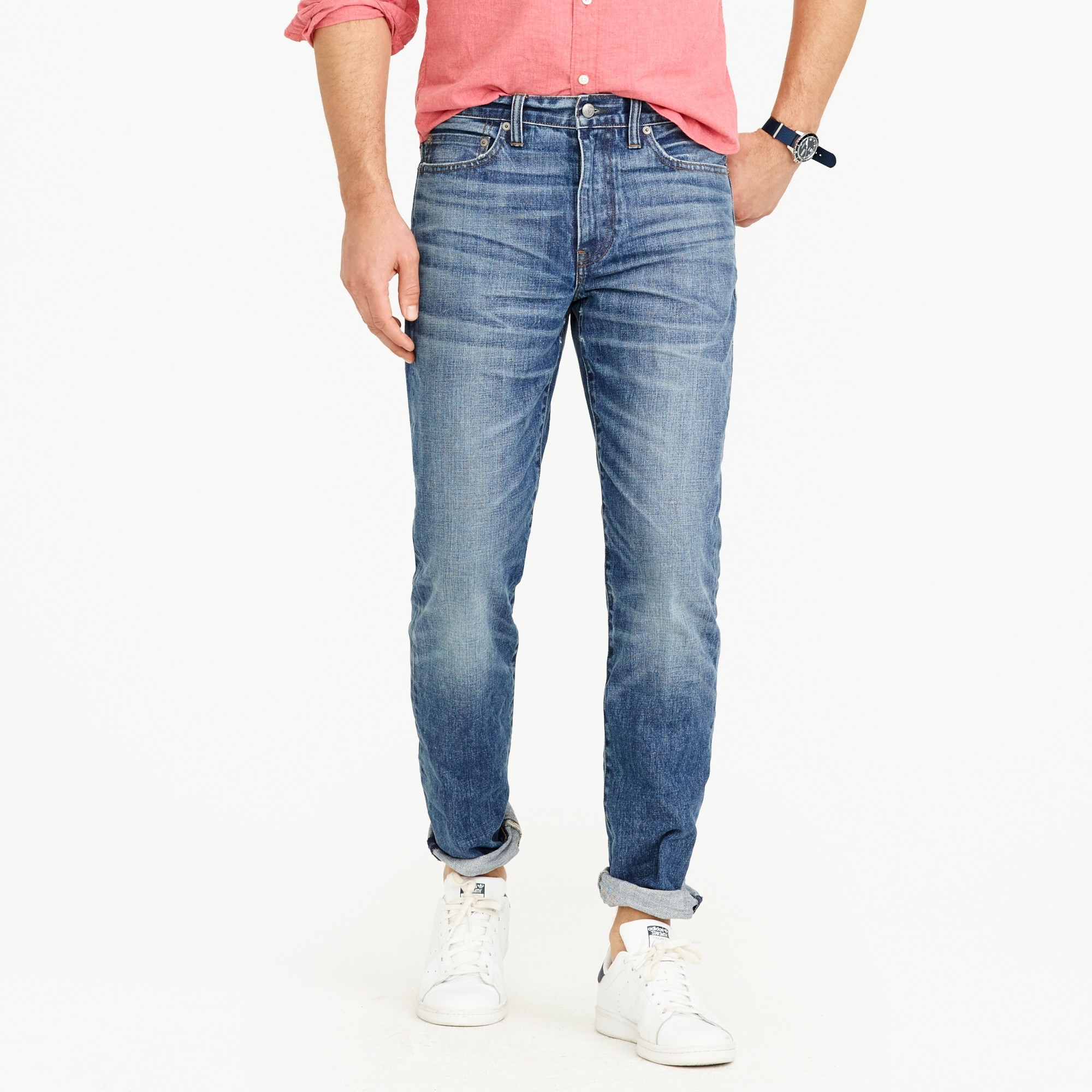 770 Straight-fit jean in Sutton wash men denim c