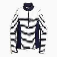 New Balance® for J.Crew in-transit pullover in stripe