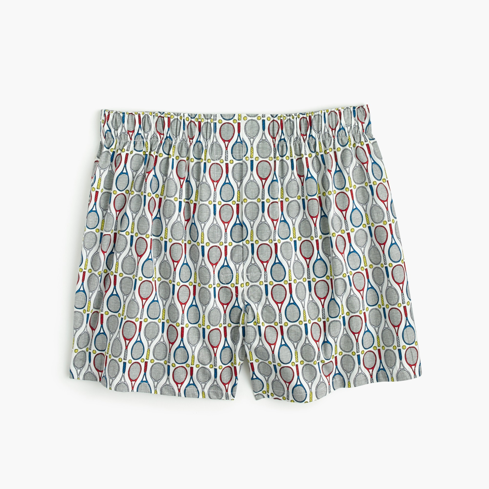 tennis print boxers : men's boxer shorts