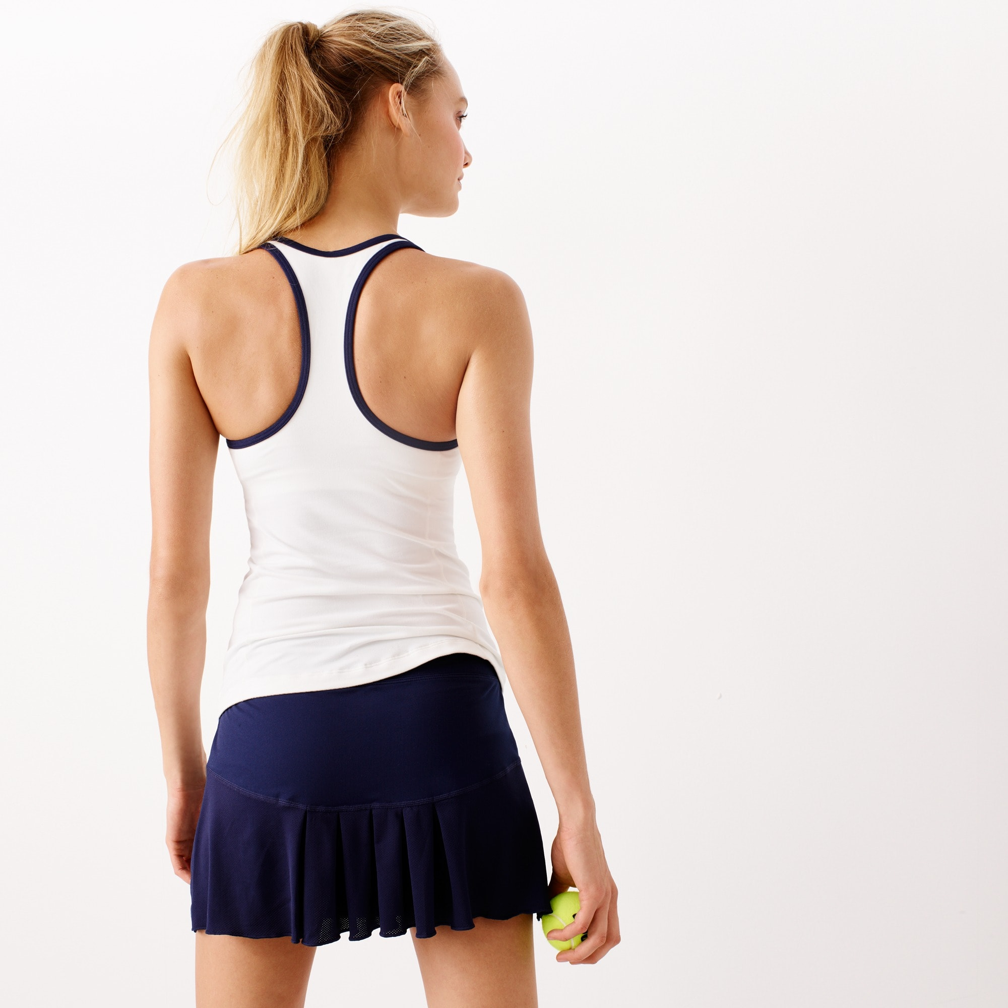 Image 3 for New Balance® for J.Crew racerback tank top with built-in bra
