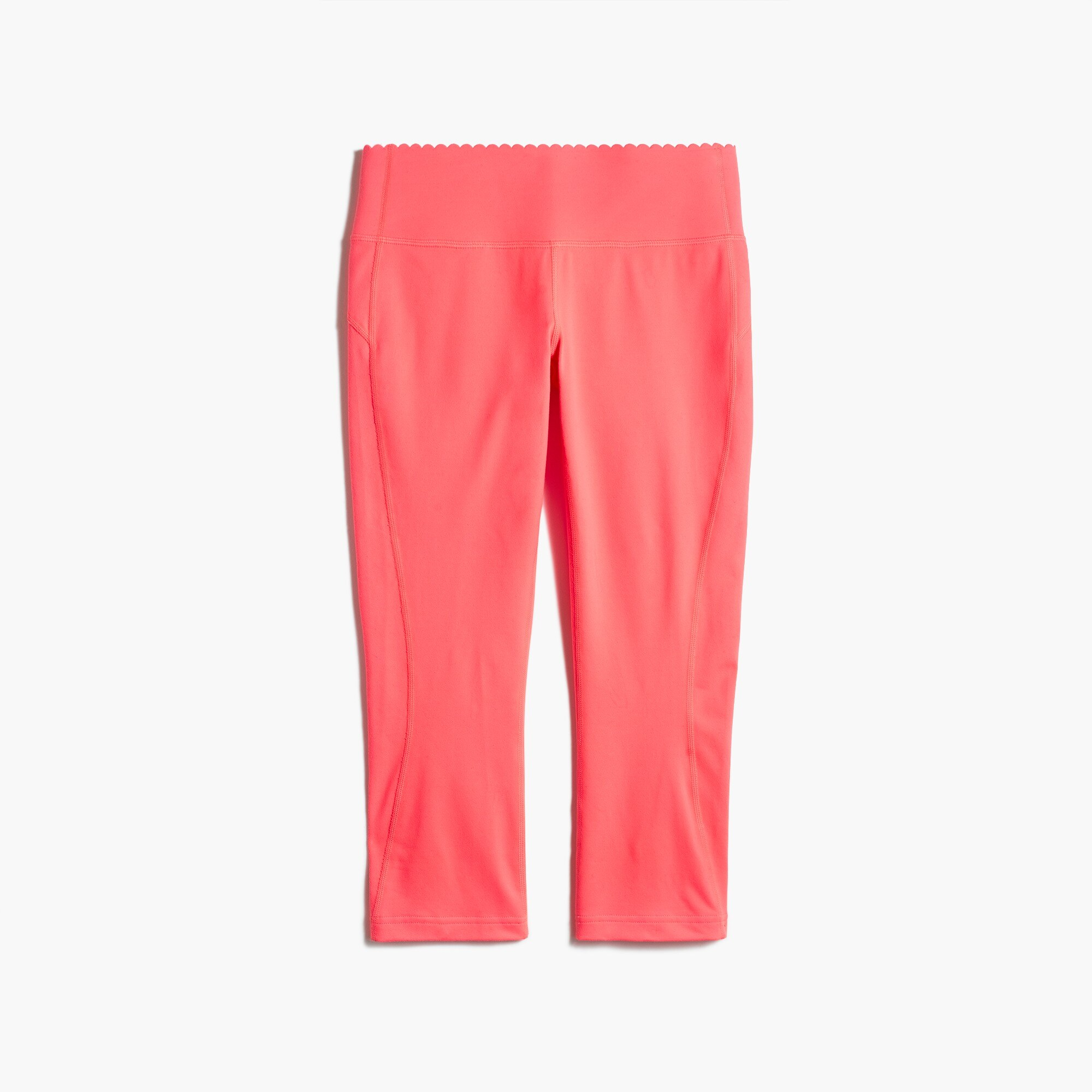 New Balance® for J.Crew scalloped performance capri leggings