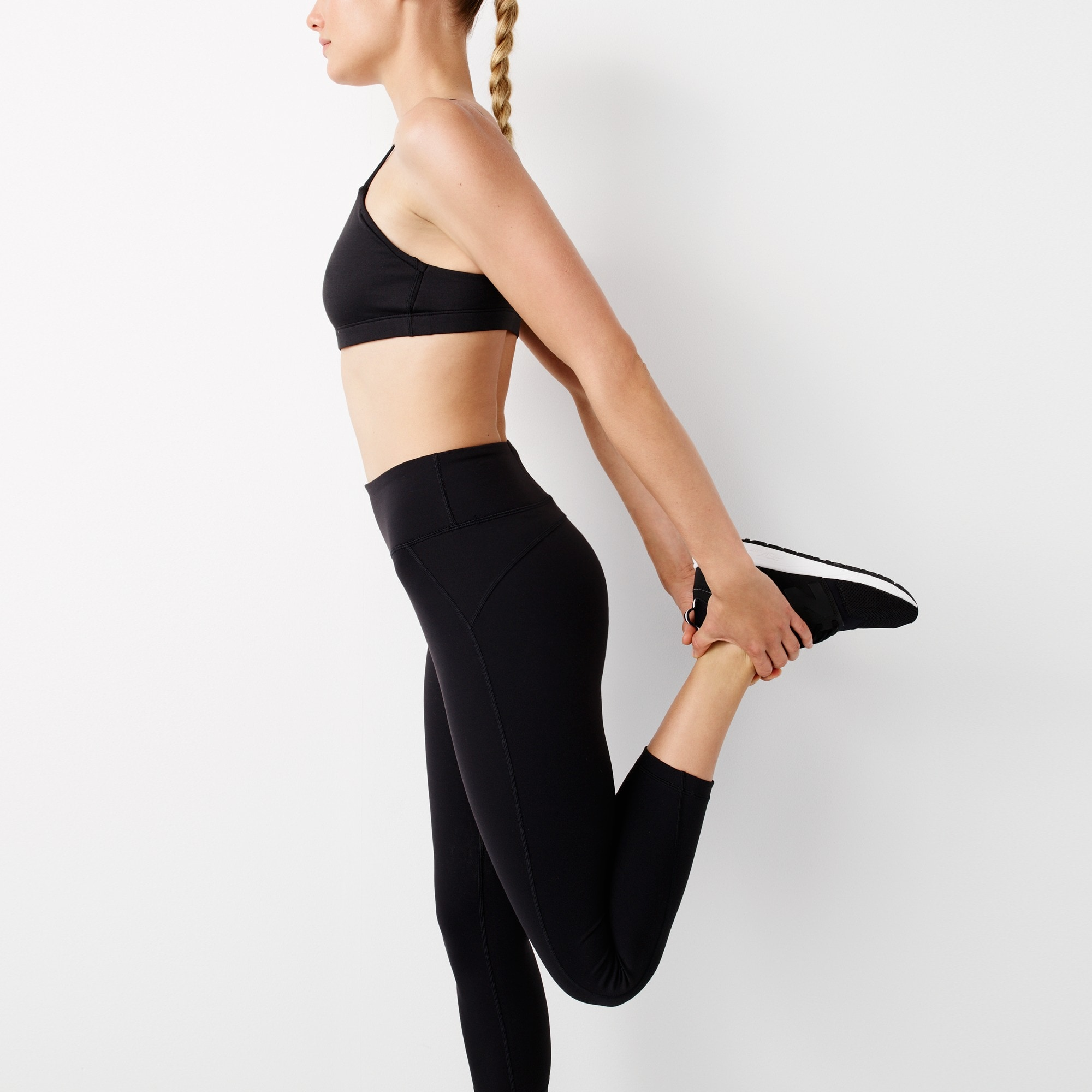 Image 3 for New Balance® for J.Crew high-waisted performance crop leggings