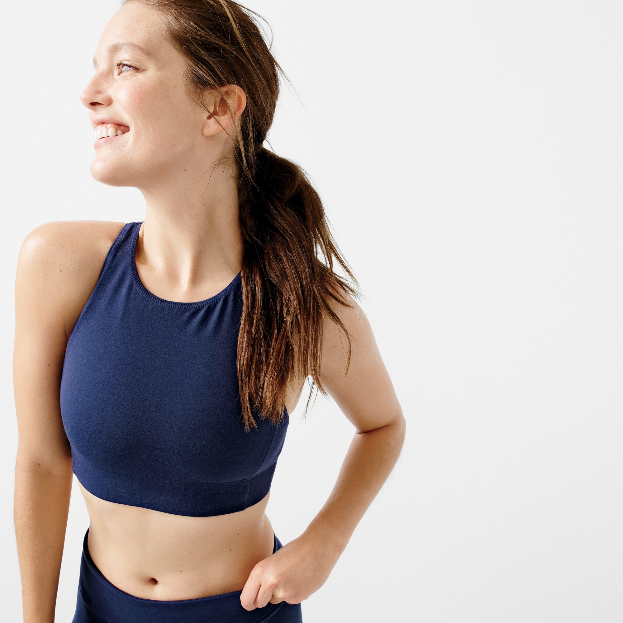 New Balance® for J.Crew performance crop top