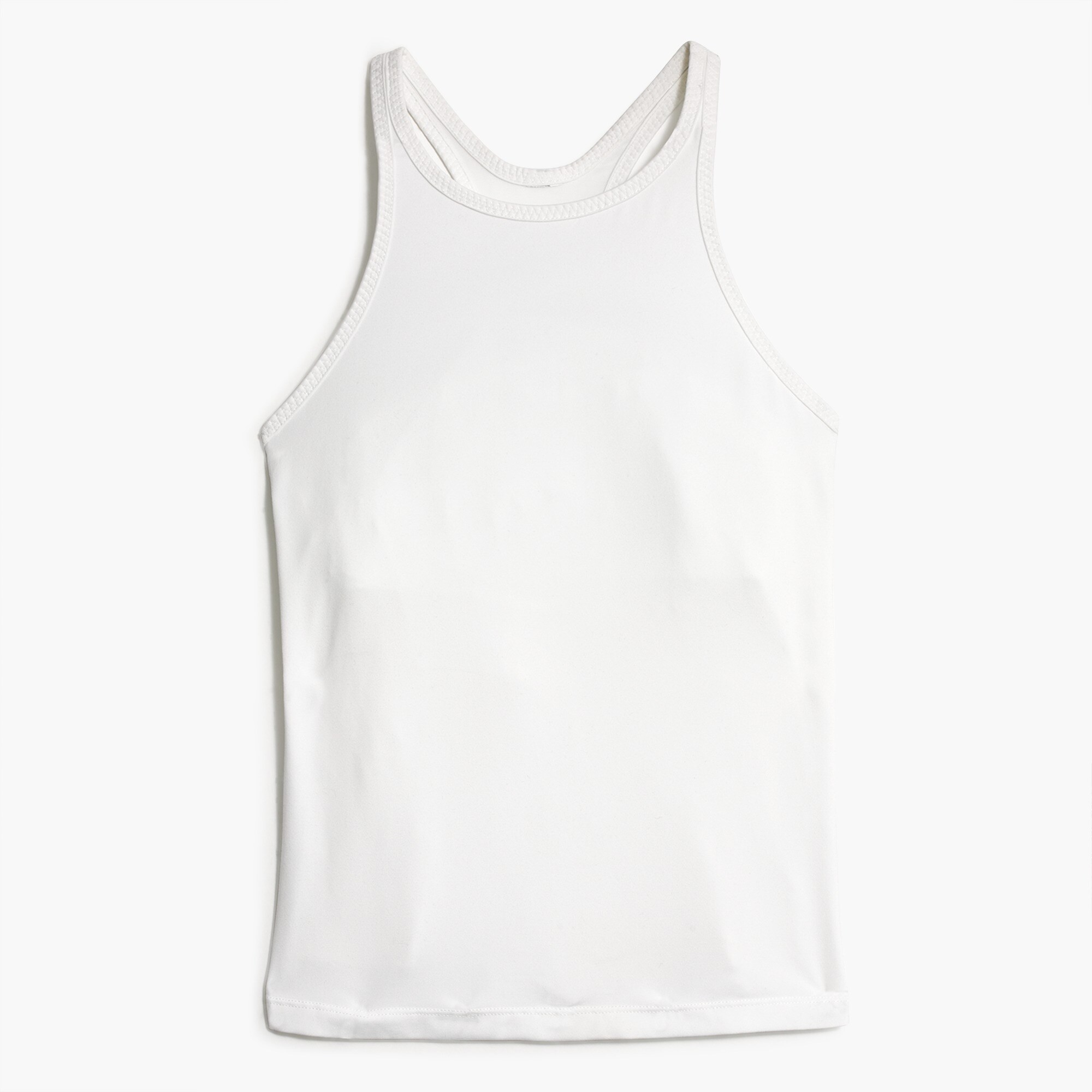 New Balance® for J.Crew racerback tank top with built-in sports bra