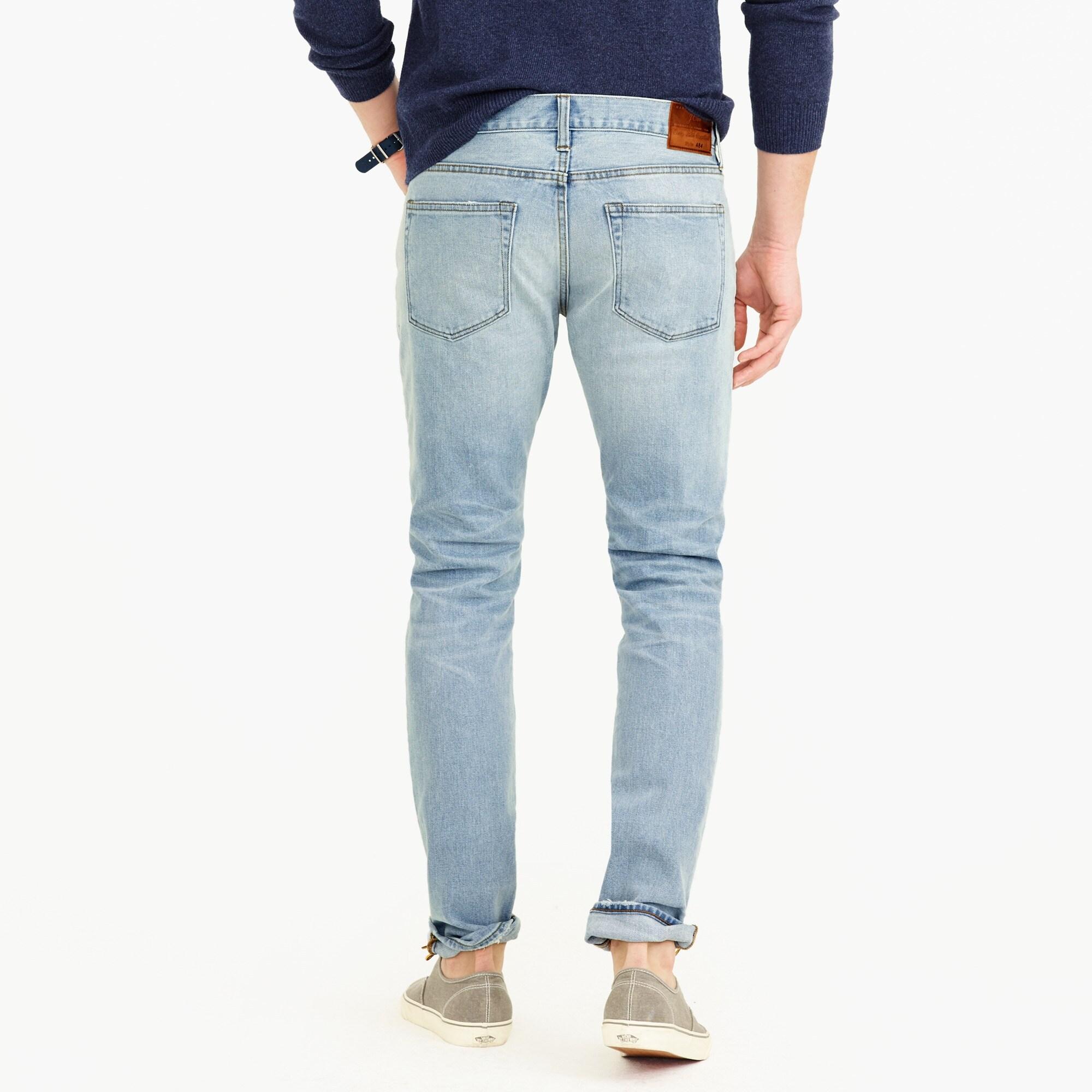 484 slim stretch jean in Marshall wash