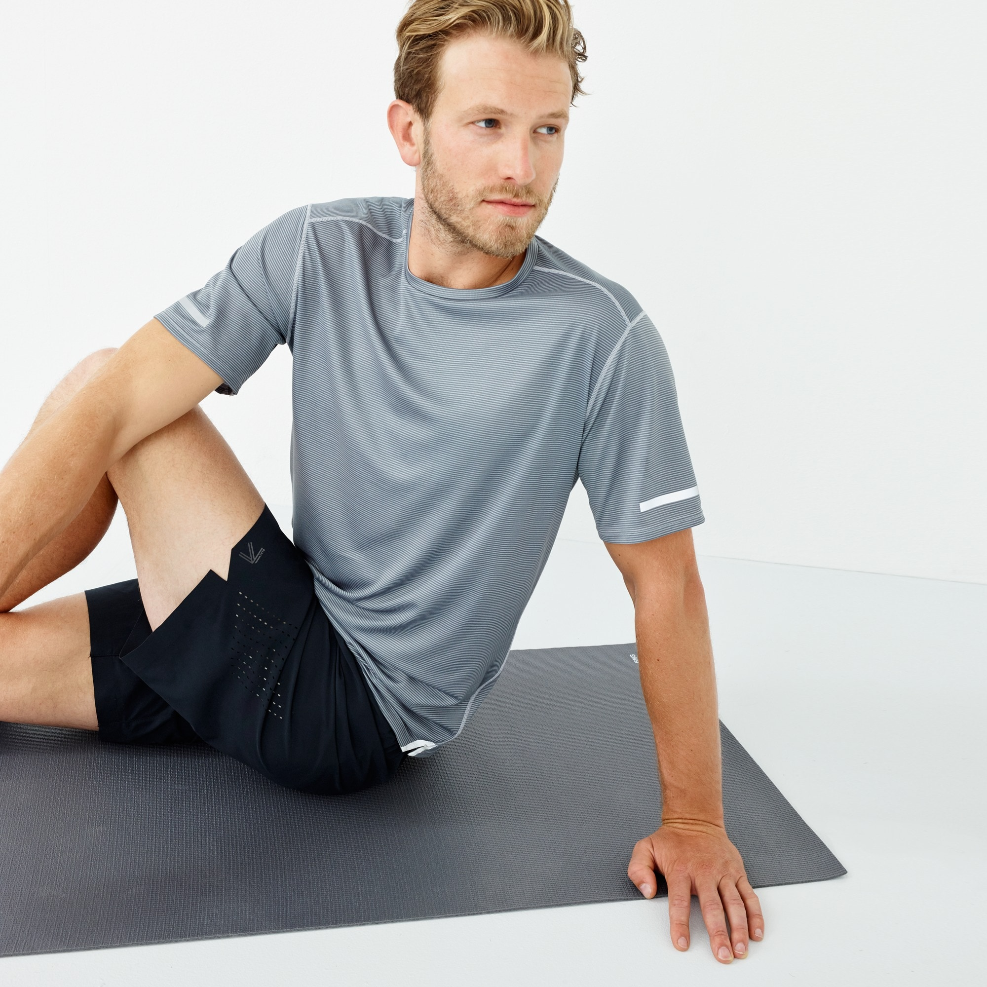 New Balance® for J.Crew printed cooling workout T-shirt