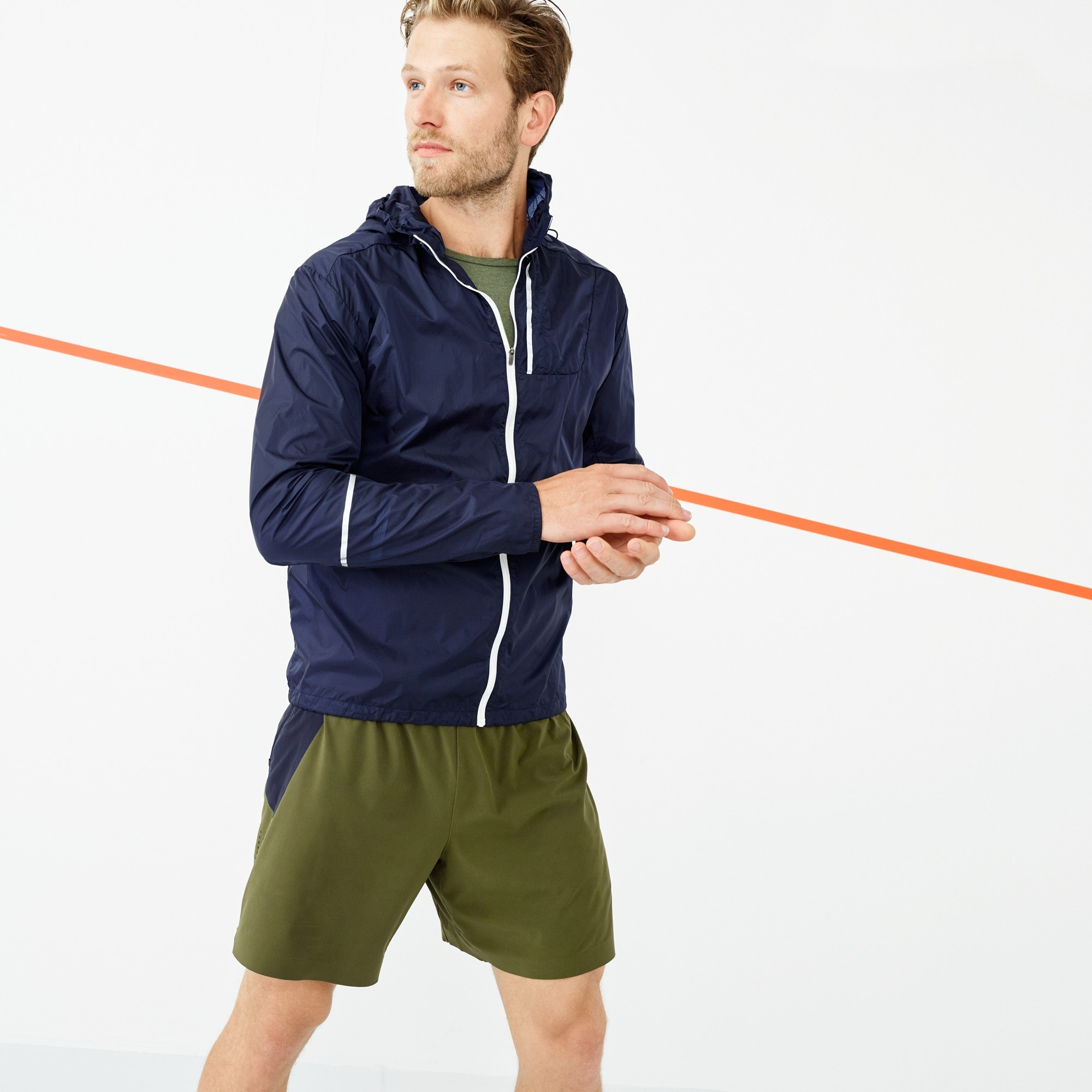men's new balance® for j.crew 7 short - men's knits