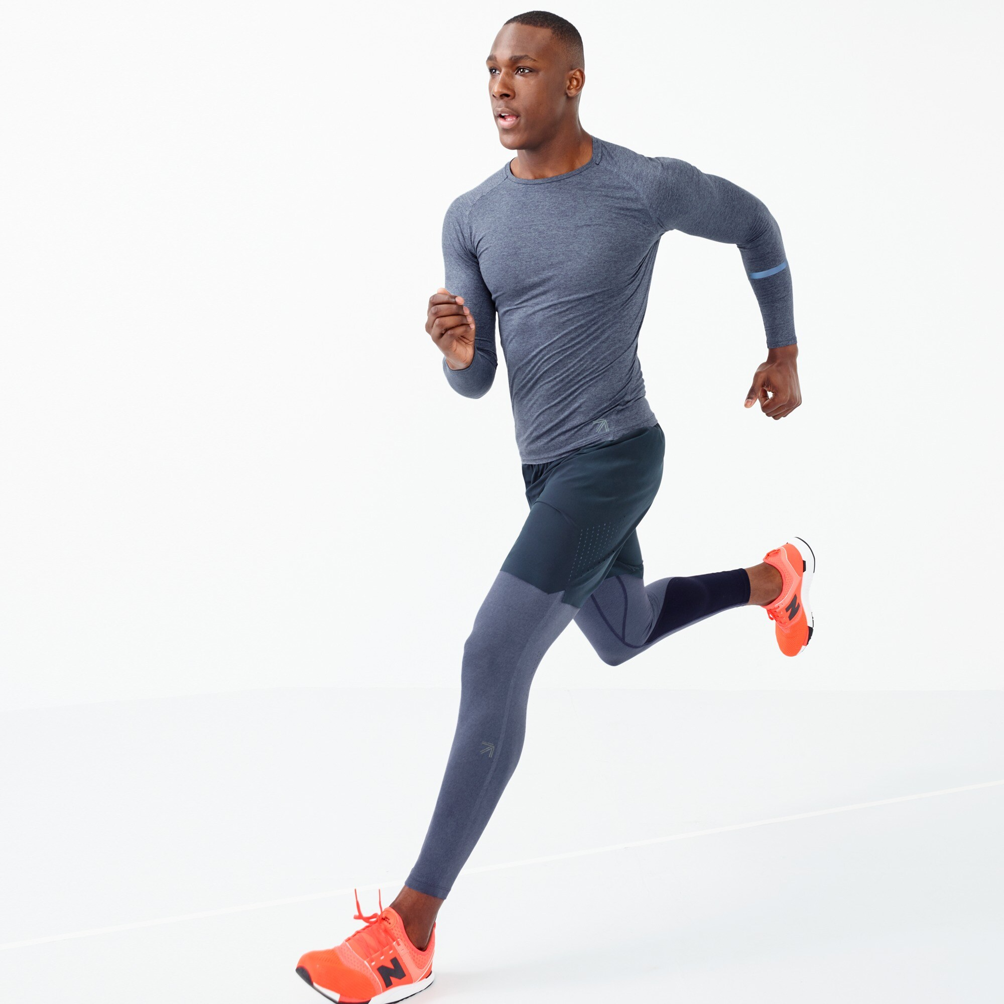 Image 1 for New Balance® for J.Crew compression tights