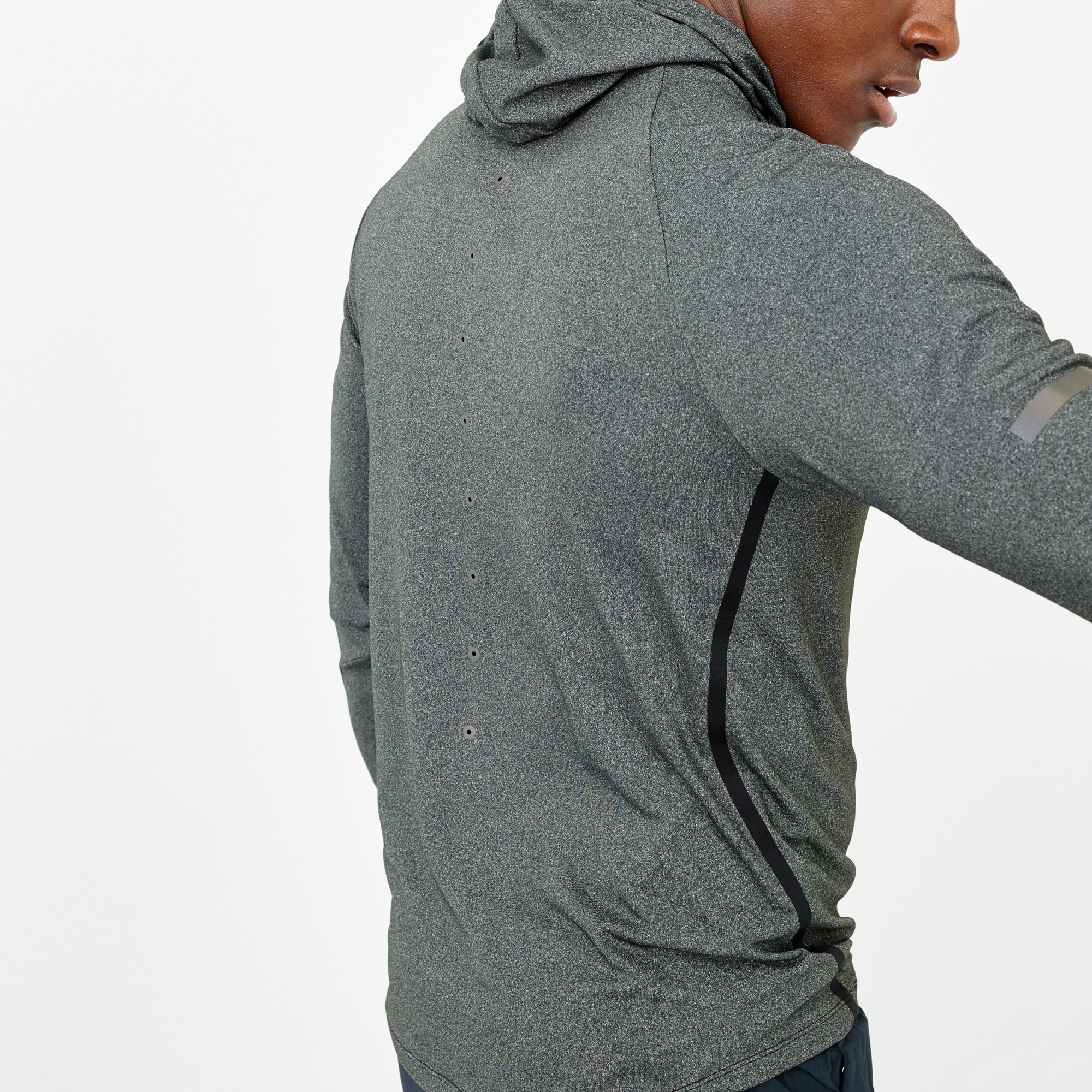 Image 3 for New Balance® for J.Crew workout hoodie