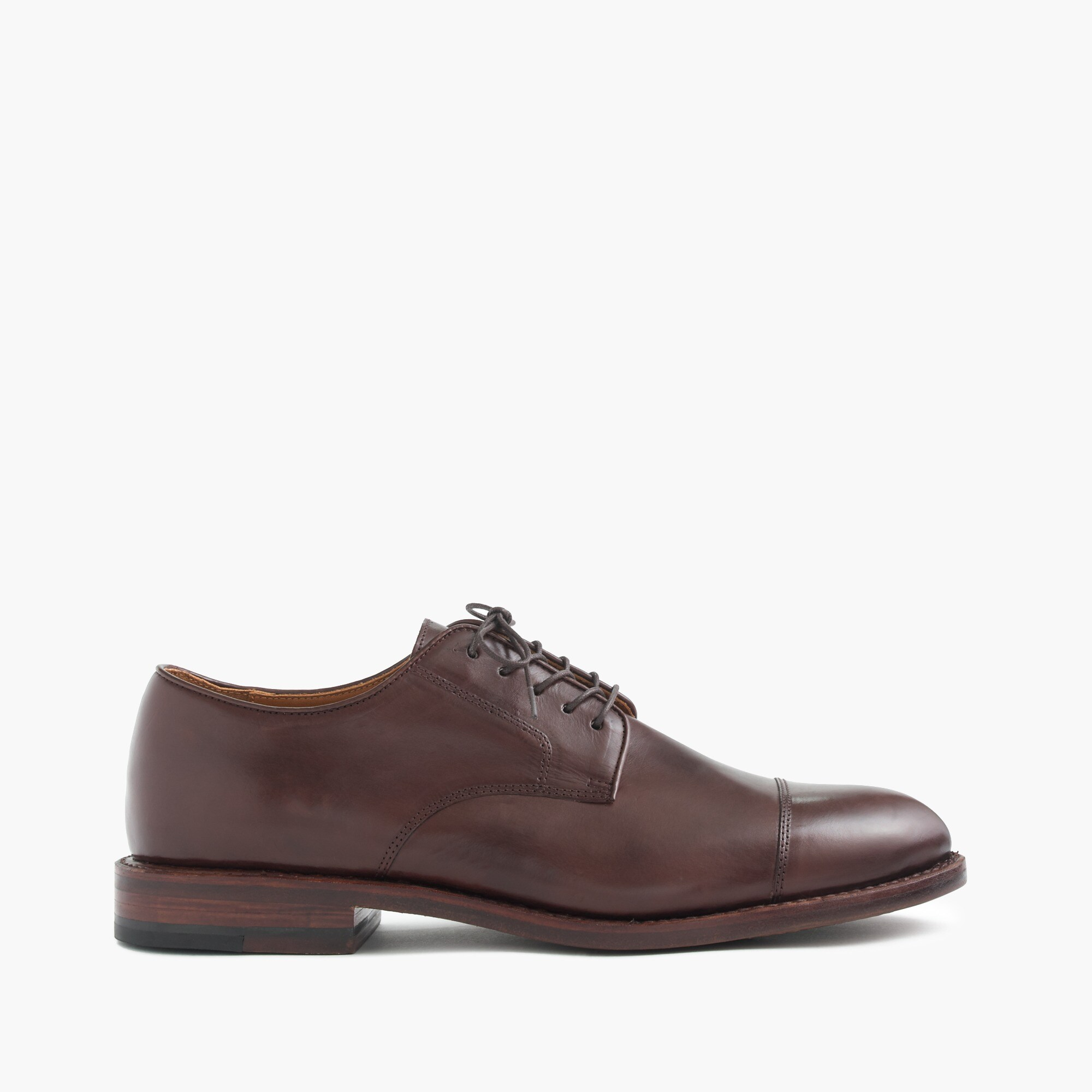 ludlow balmoral cap-toe shoes : men's shoes