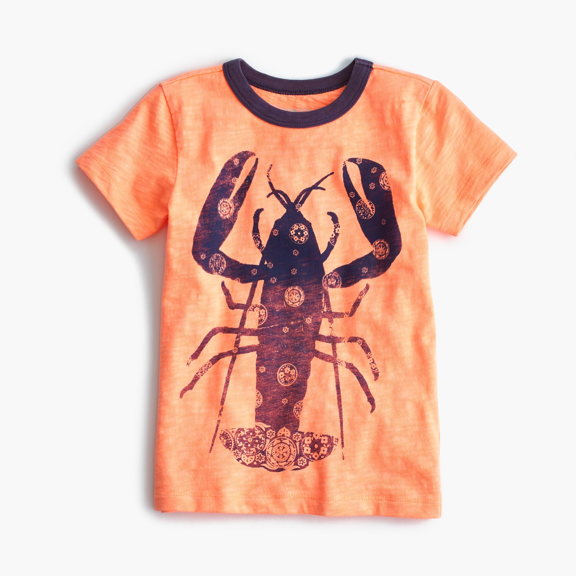 Image 1 for Boys' bandana-print lobster T-shirt