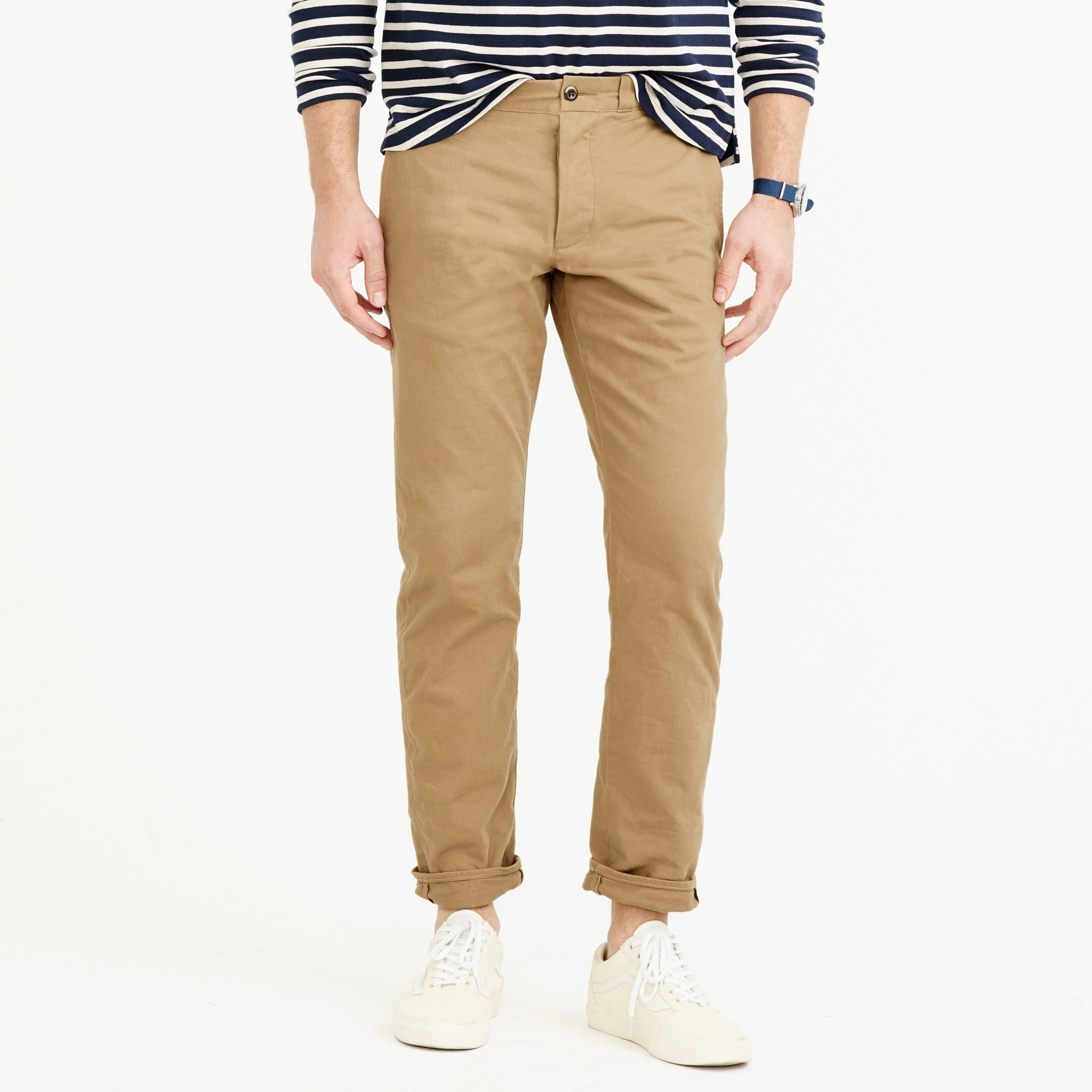 wallace & barnes selvedge chino pant : men wallace & barnes