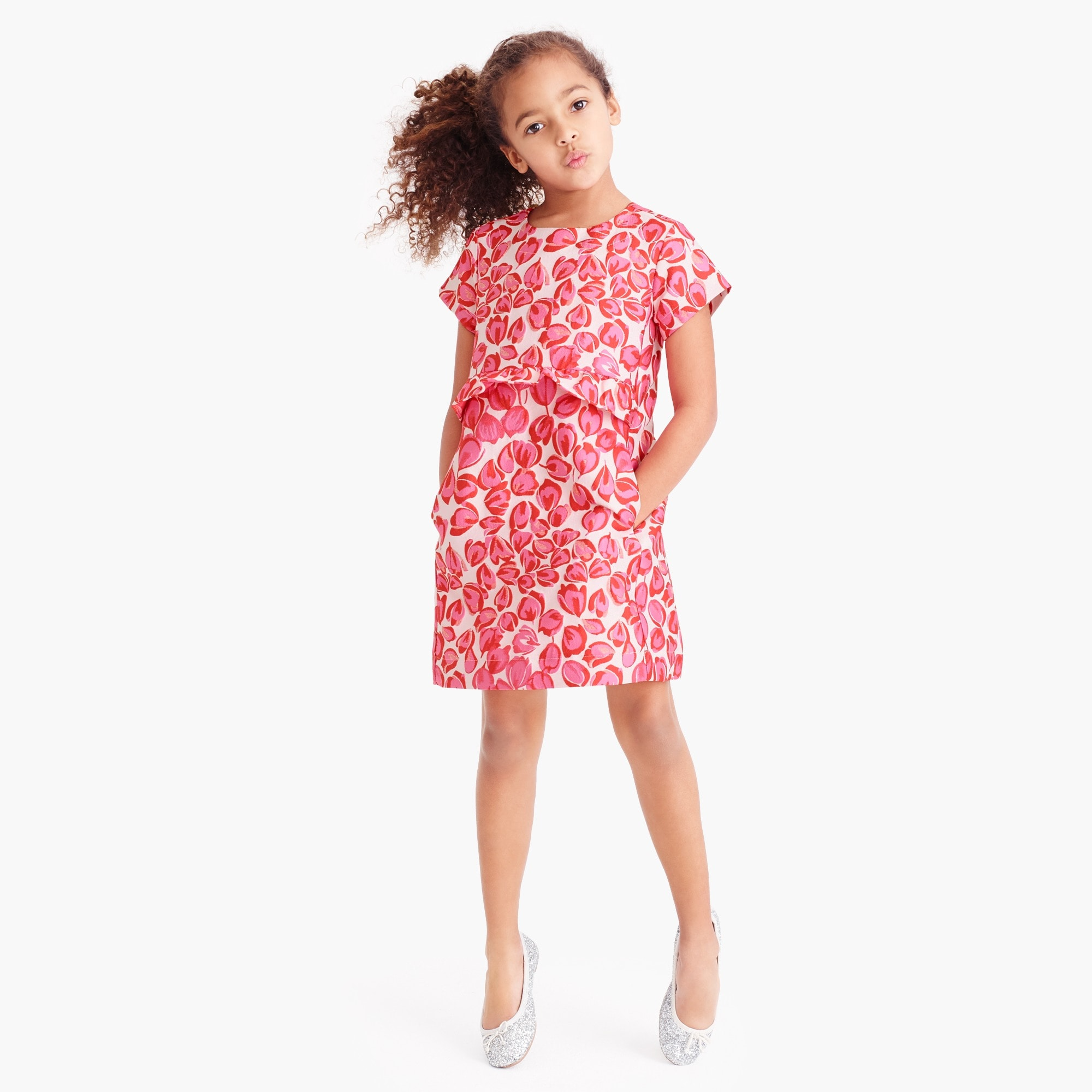 Girls' tulip dress
