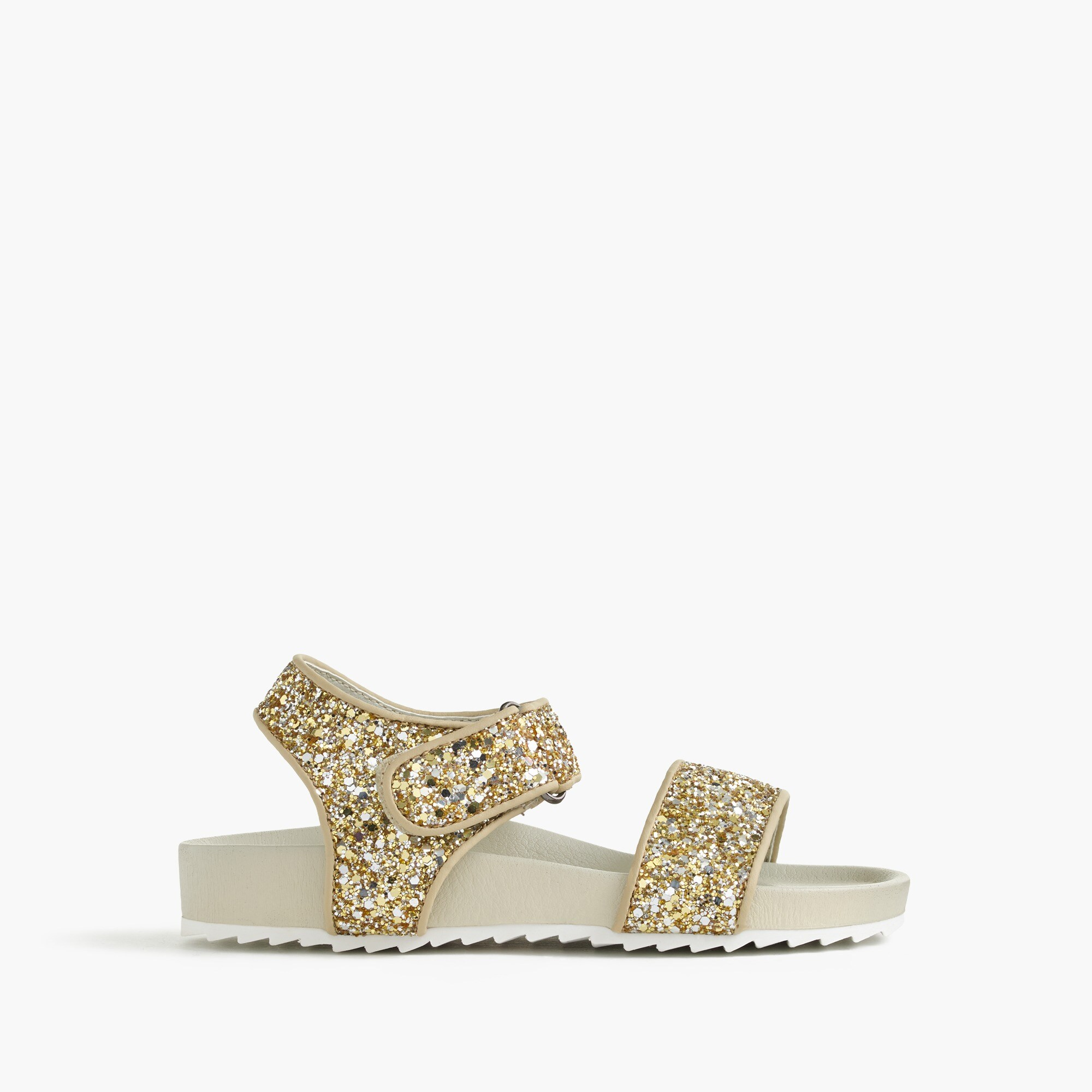 girls' glitter slide sandals - girls' footwear
