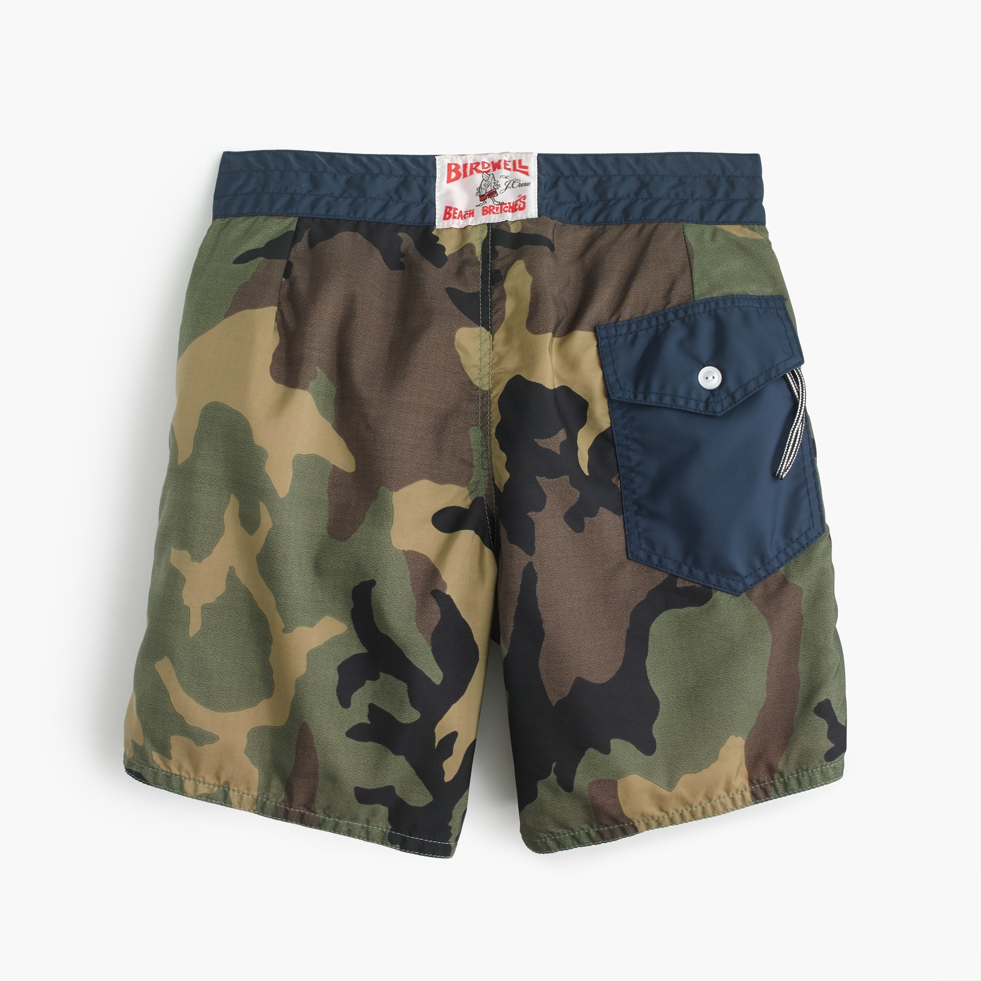 Birdwell® for J.Crew board short in camo