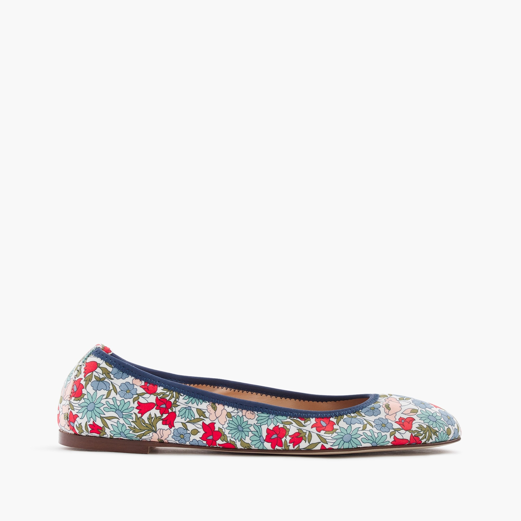 Image 1 for Lea ballet flats in Liberty® poppy and daisy floral