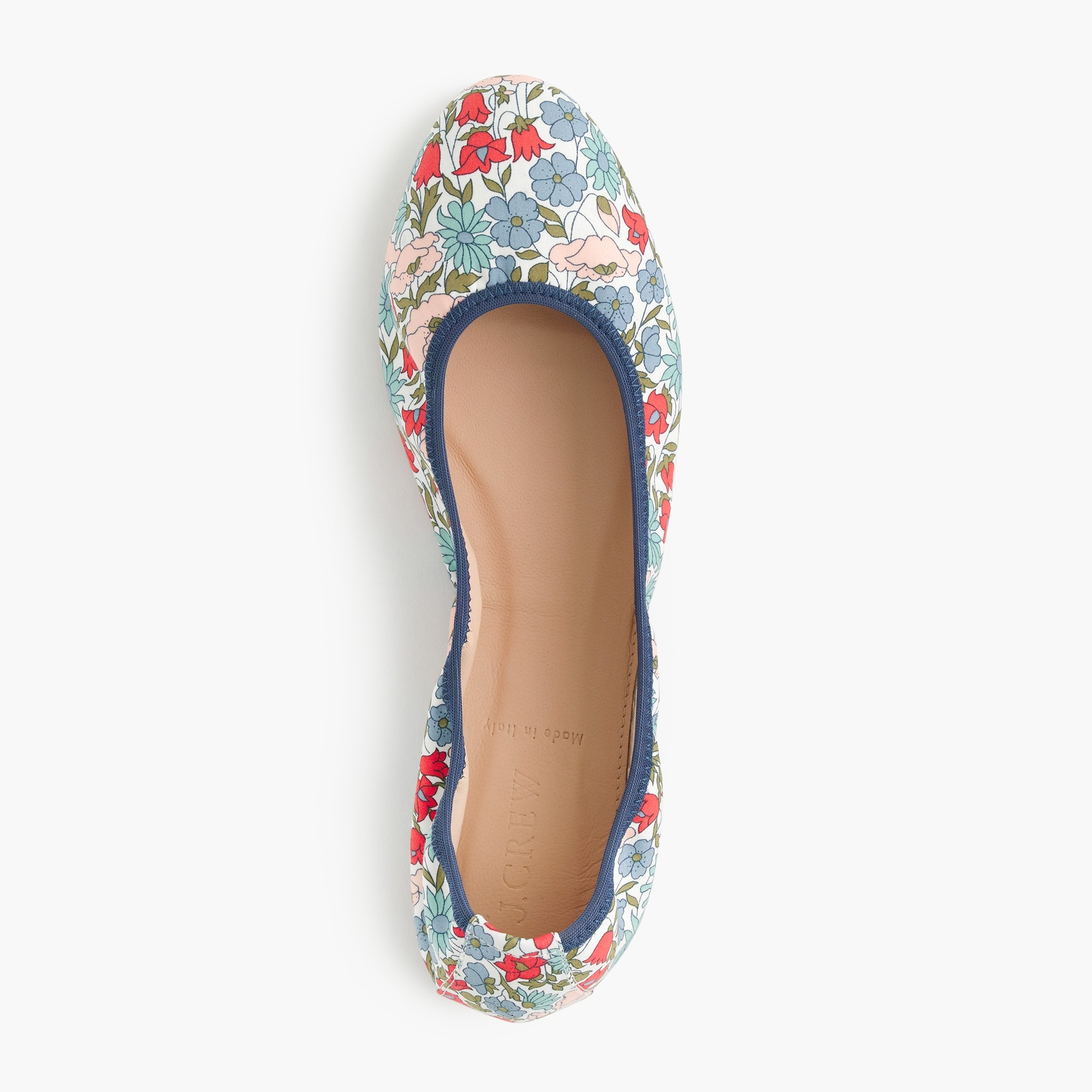 Image 2 for Lea ballet flats in Liberty® poppy and daisy floral