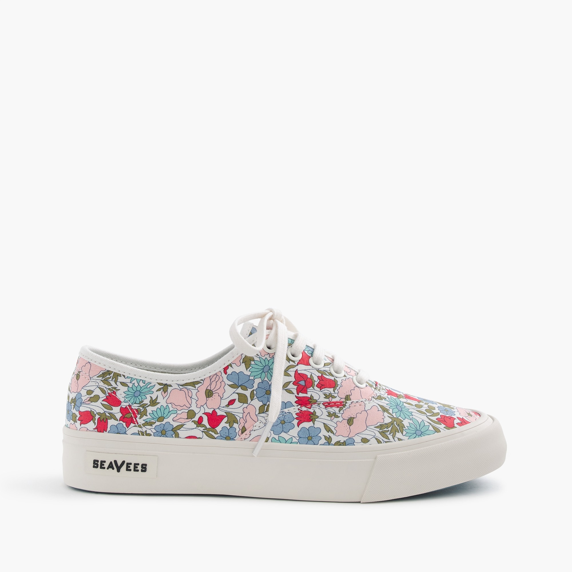 Image 1 for Seavees® for J.Crew Legend sneakers in Liberty poppy & daisy floral